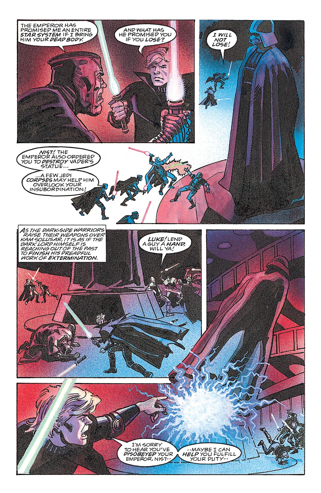 Read online Star Wars: Dark Empire Trilogy comic -  Issue # TPB (Part 4) - 31