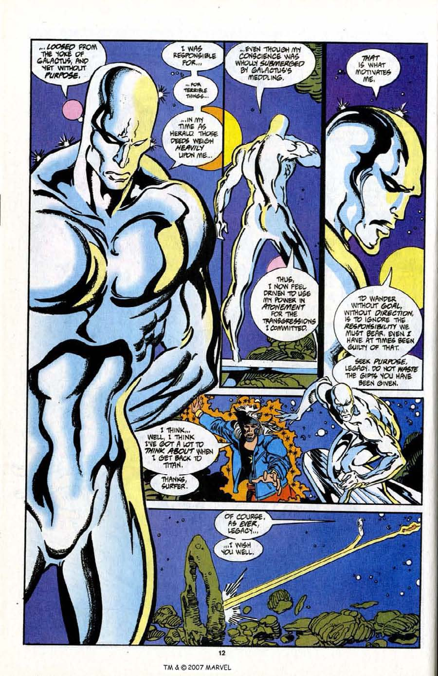 Read online Silver Surfer (1987) comic -  Issue # _Annual 7 - 14