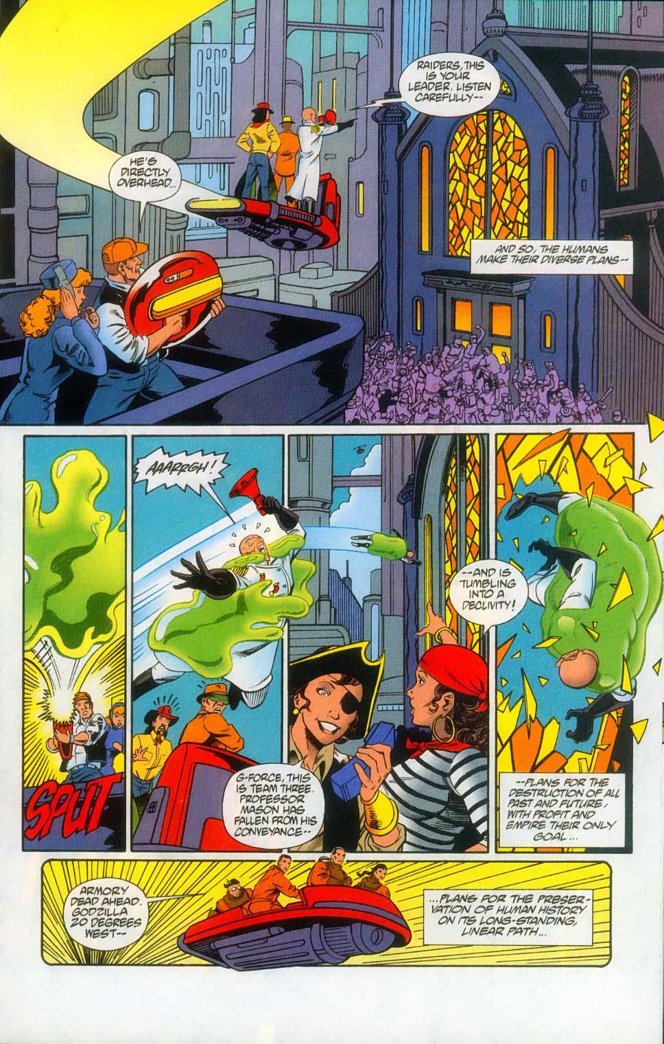 Godzilla (1995) Issue #12 #13 - English 21