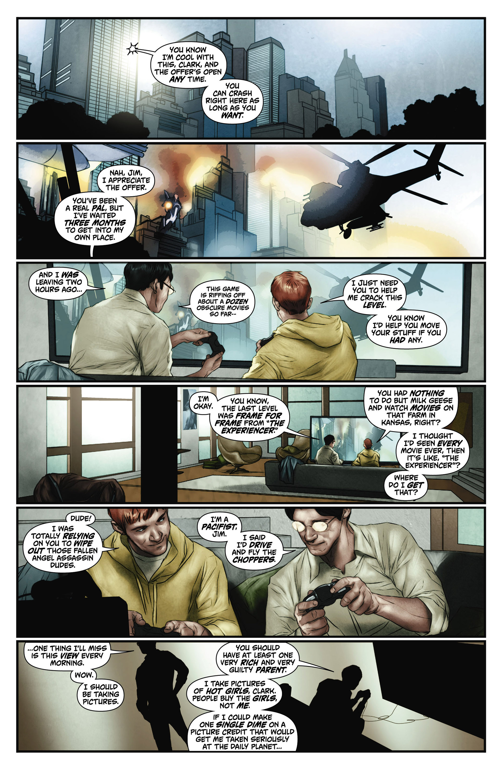 Read online Action Comics (2011) comic -  Issue #0 - 4