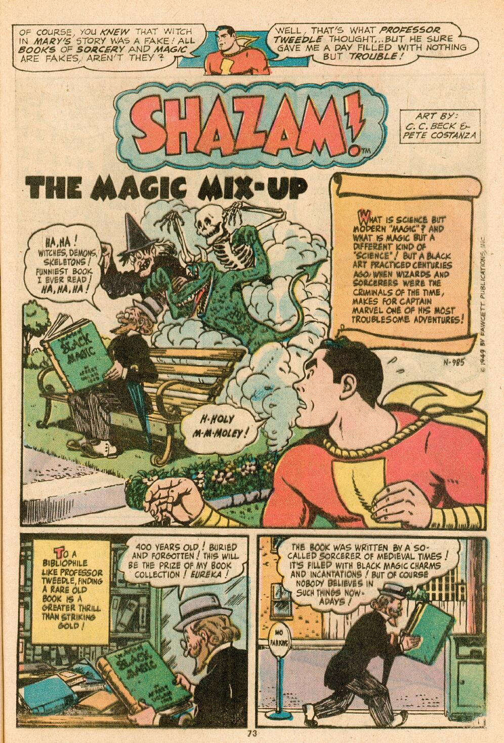 Read online Shazam! (1973) comic -  Issue #14 - 61