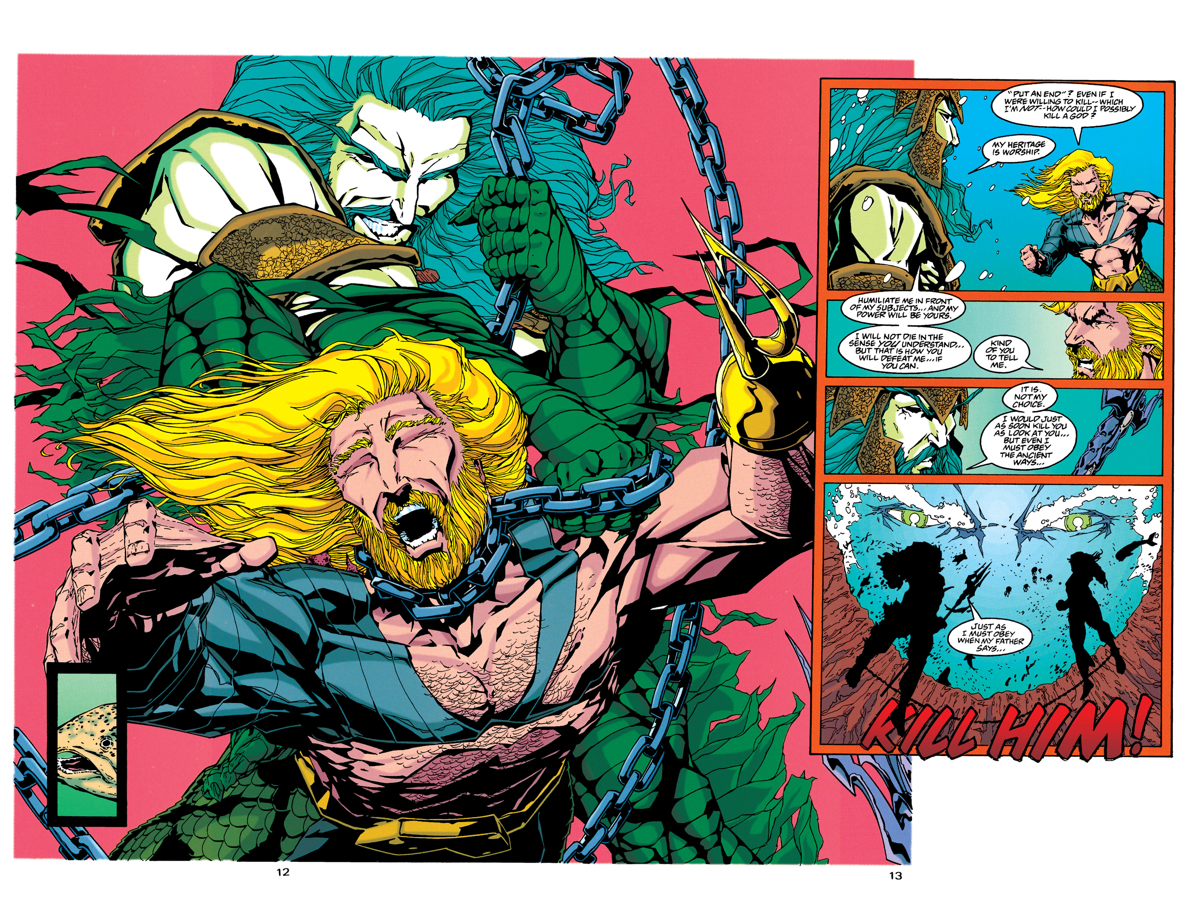 Read online Aquaman (1994) comic -  Issue #34 - 11