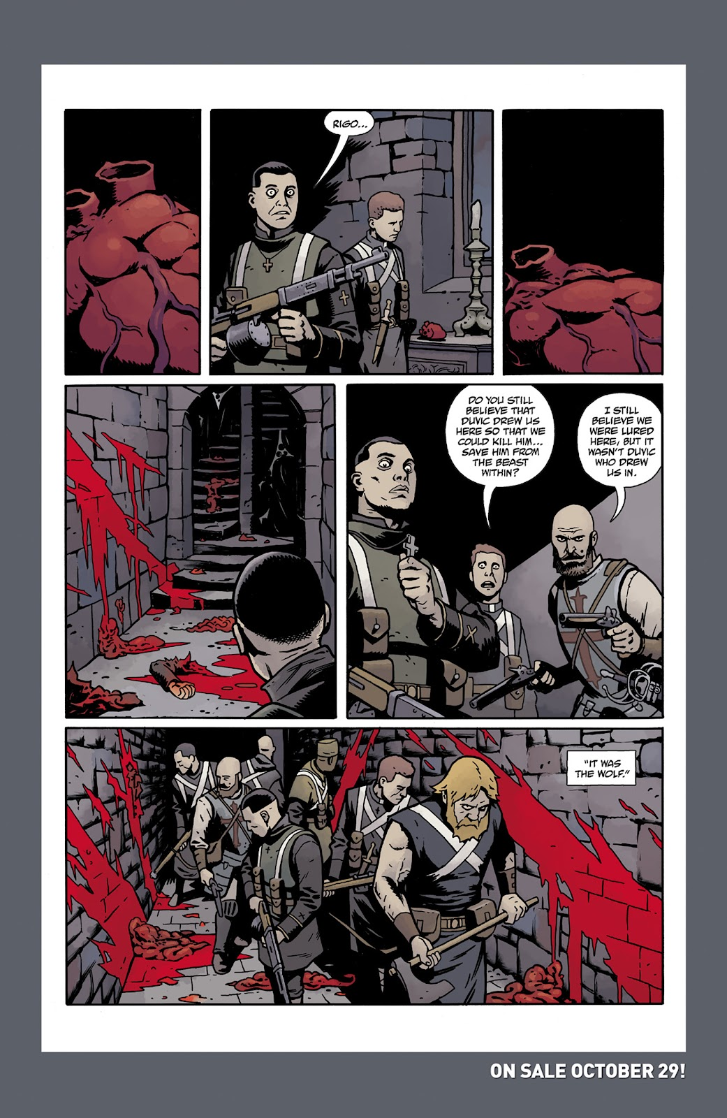 Read online Dark Ages comic -  Issue #2 - 29