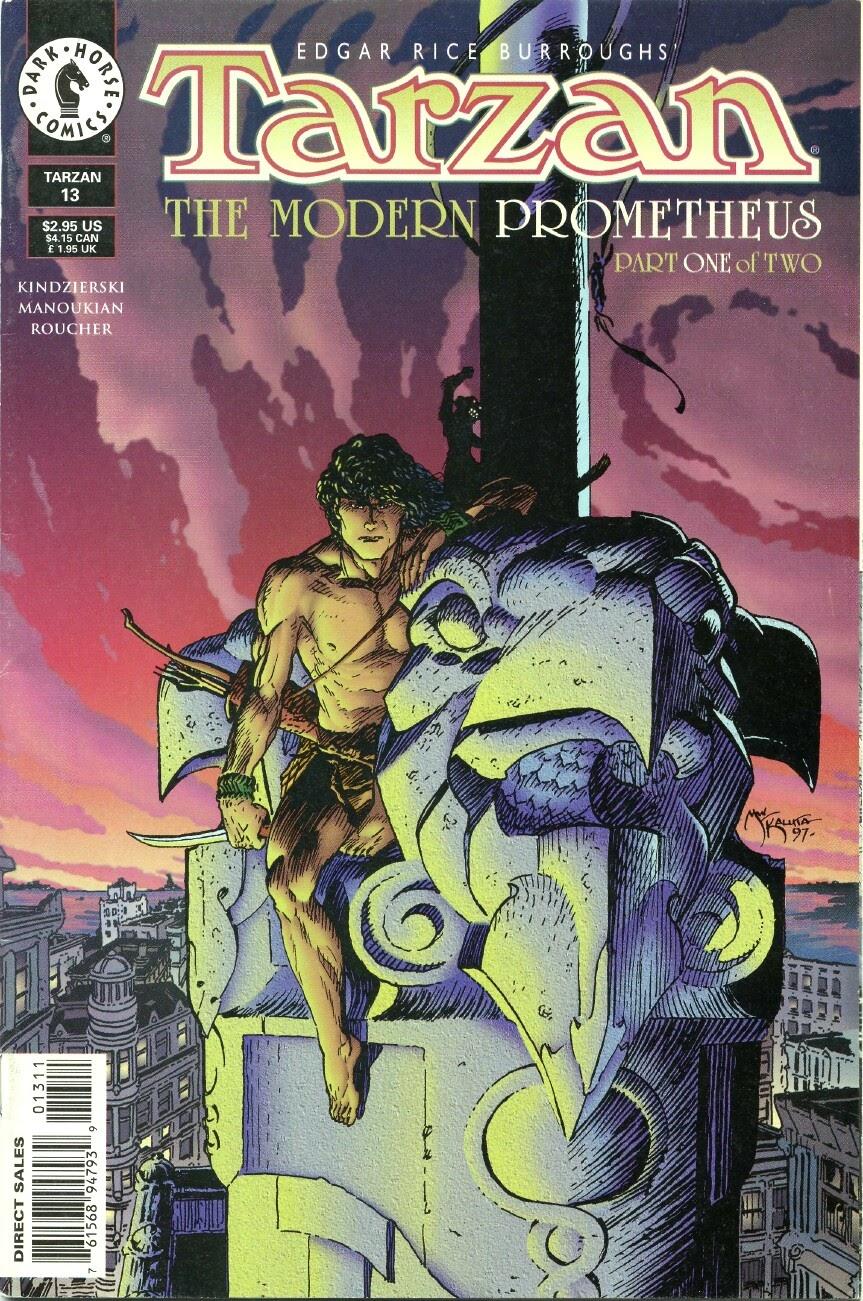 Tarzan (1996) issue 13 - Page 1