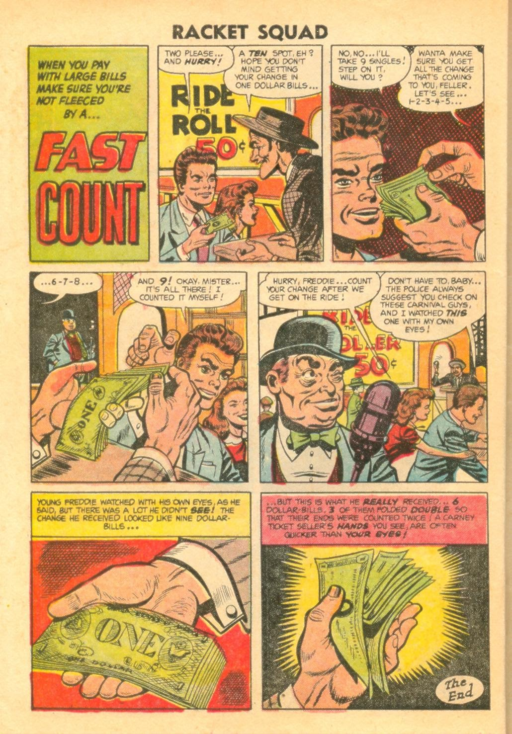 Read online Racket Squad in Action comic -  Issue #12 - 26