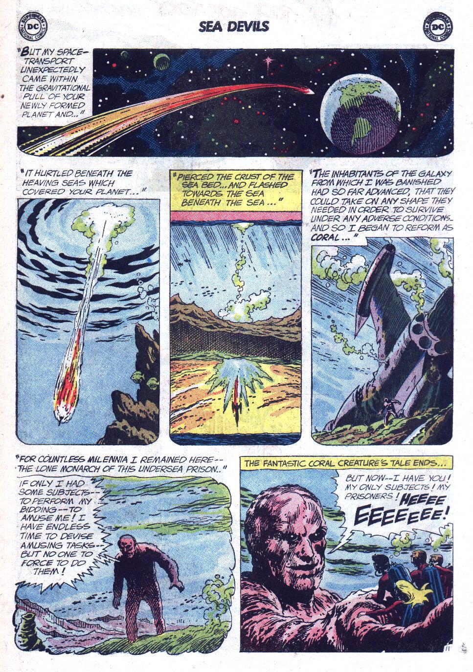 Read online Sea Devils comic -  Issue #9 - 16