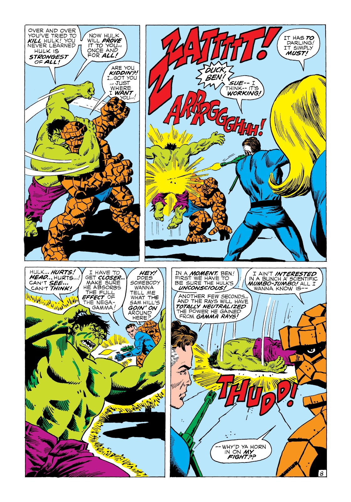 Read online Marvel Masterworks: The Incredible Hulk comic -  Issue # TPB 8 (Part 3) - 4