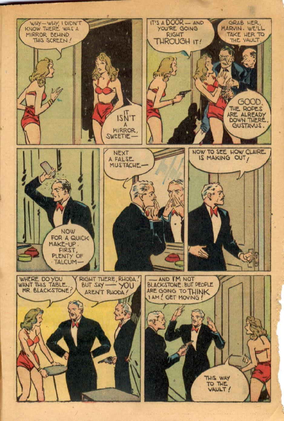 Read online Super-Magician Comics comic -  Issue #43 - 45