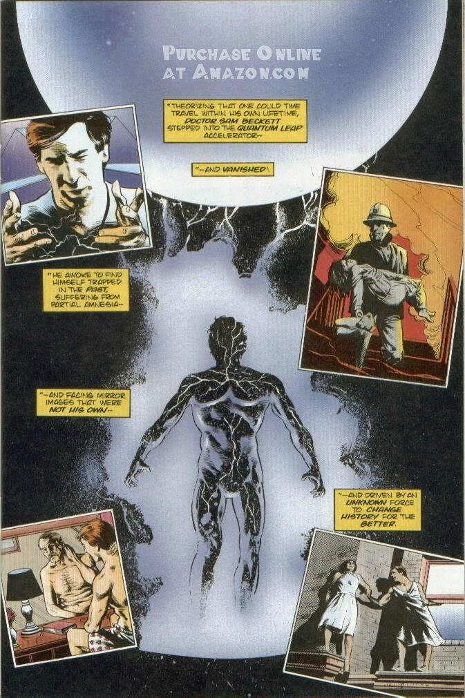 Read online Quantum Leap comic -  Issue #12 - 2