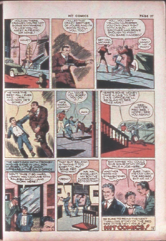 Read online Hit Comics comic -  Issue #8 - 39