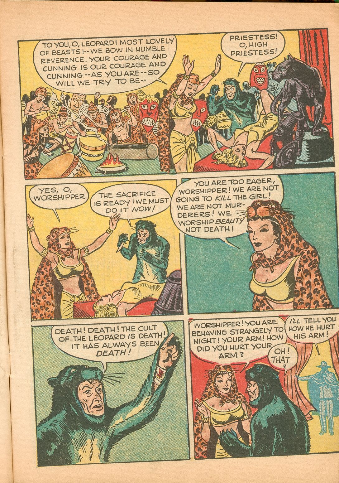 Read online Shadow Comics comic -  Issue #11 - 13