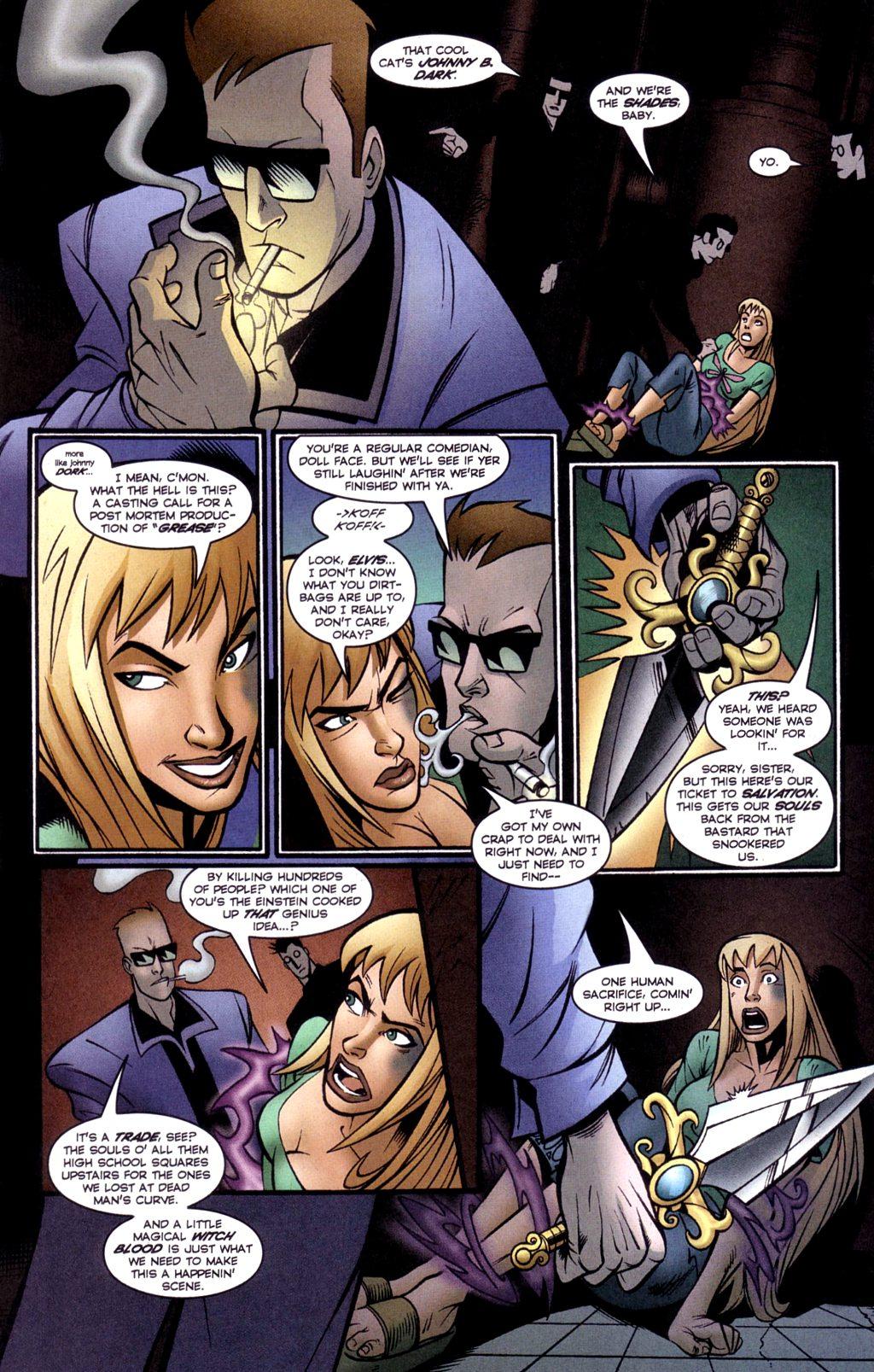Read online Jezebelle comic -  Issue #2 - 21