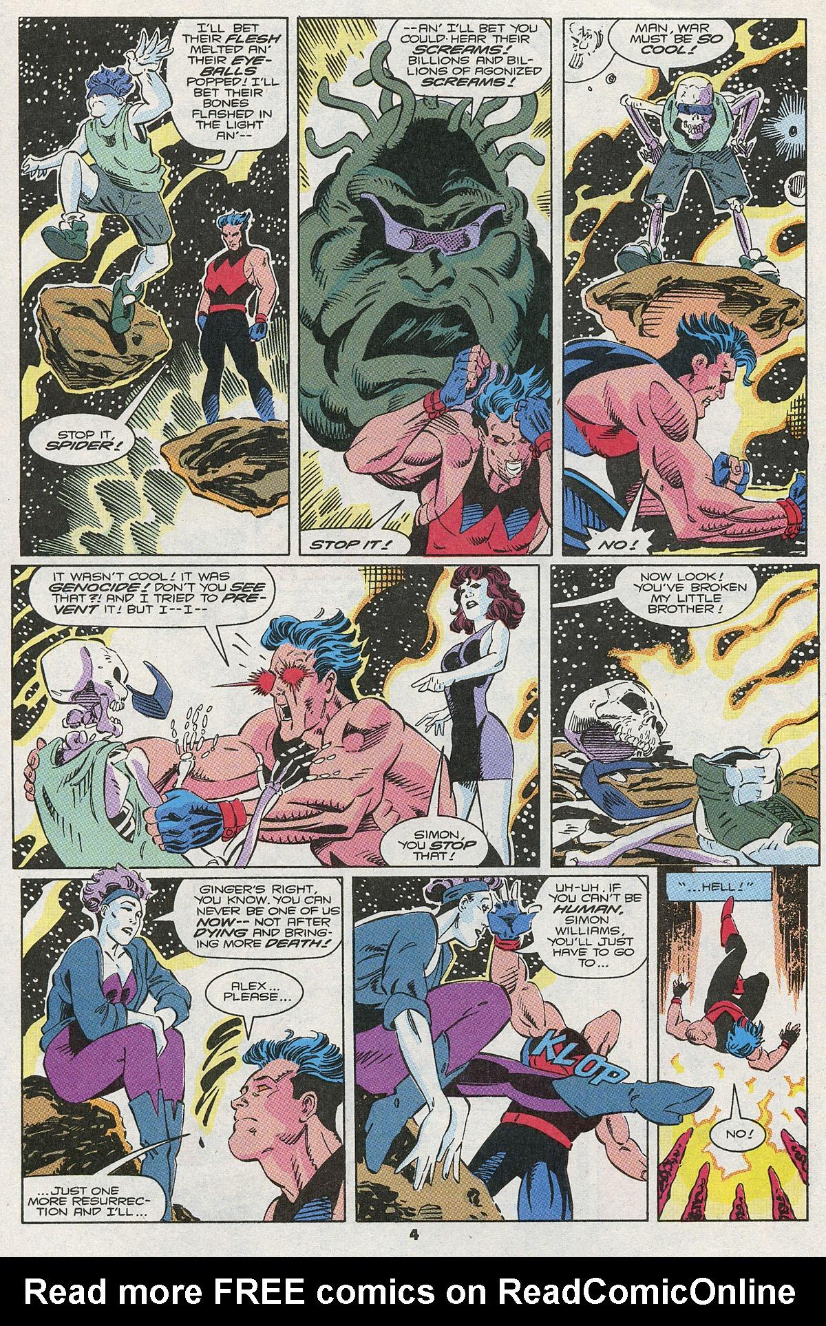 Read online Wonder Man (1991) comic -  Issue #10 - 5