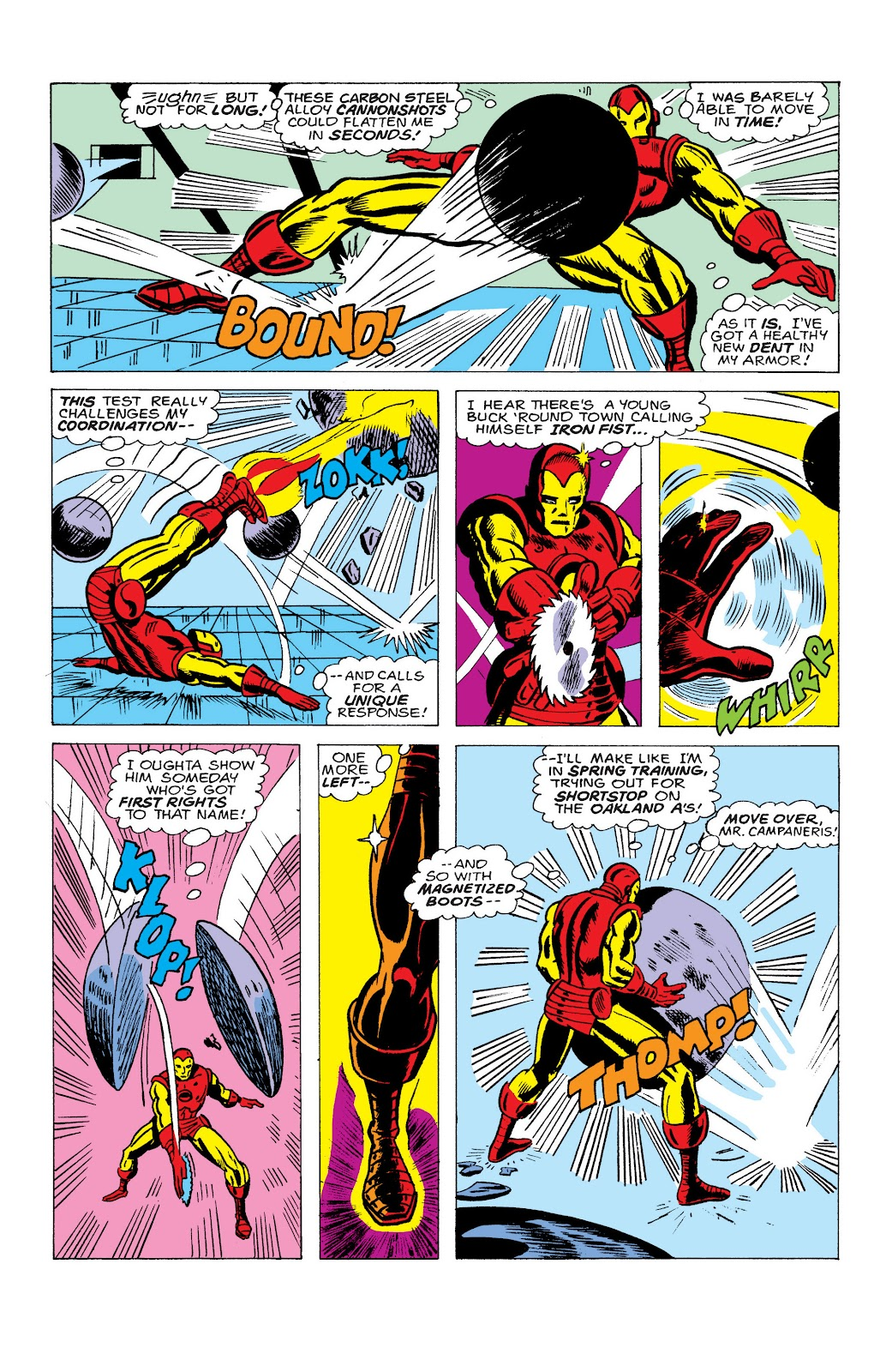 Read online Marvel Masterworks: The Invincible Iron Man comic -  Issue # TPB 10 (Part 2) - 21