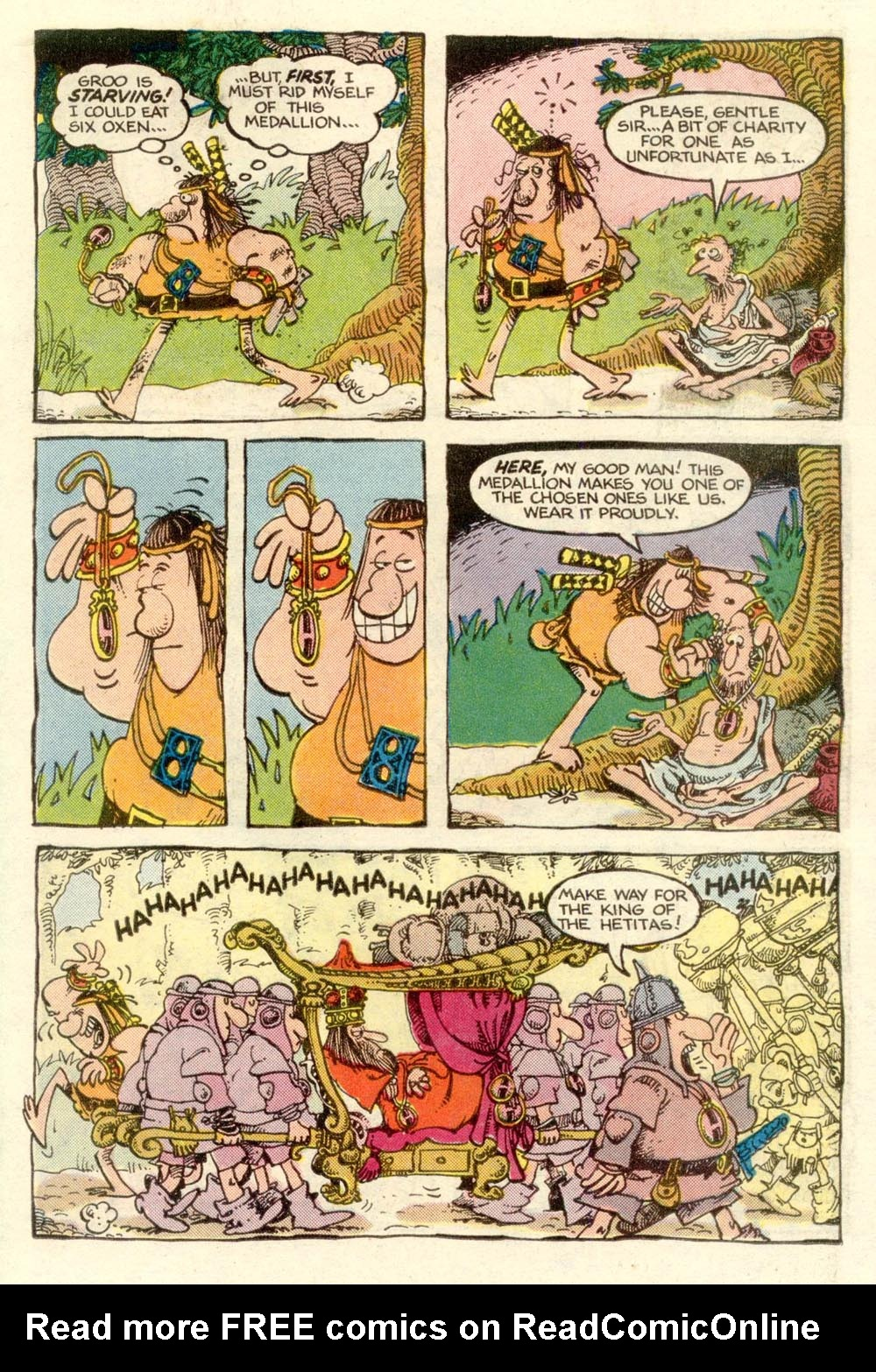 Read online Sergio Aragonés Groo the Wanderer comic -  Issue #3 - 13