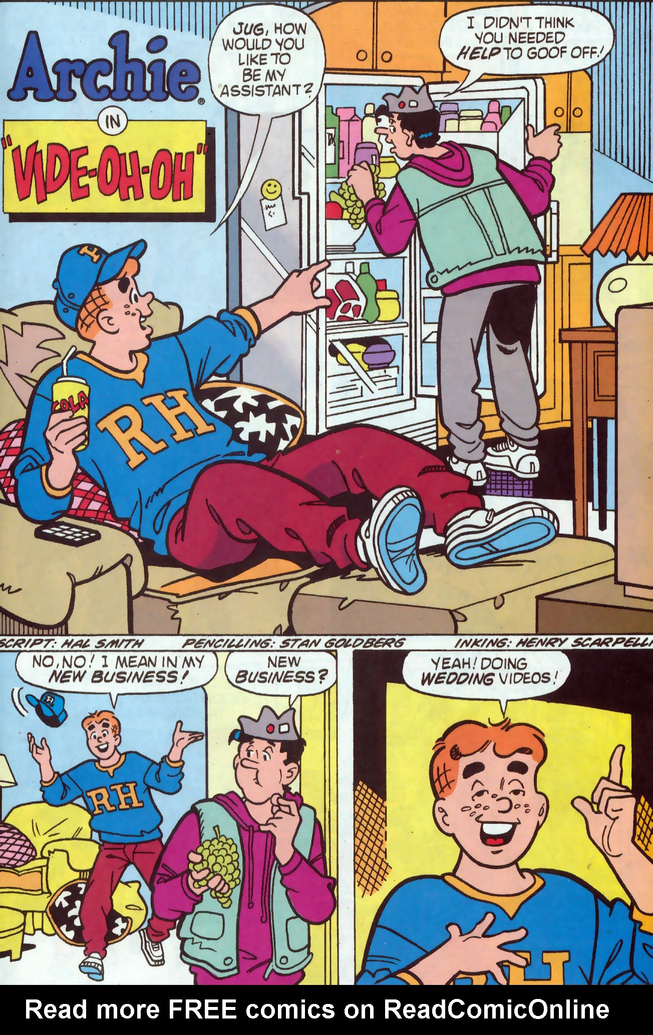 Read online Archie (1960) comic -  Issue #437 - 21