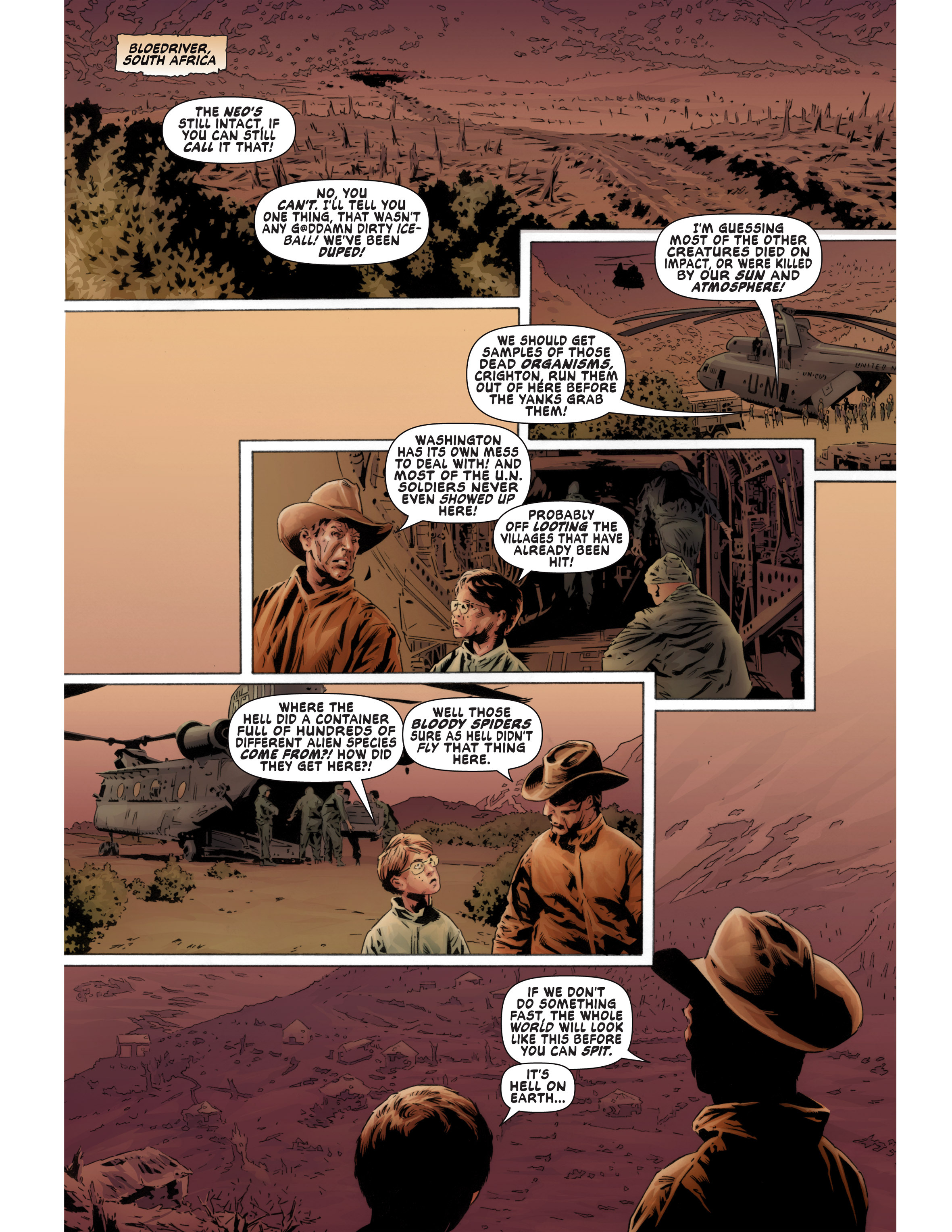 Read online Bad Planet comic -  Issue # TPB - 34
