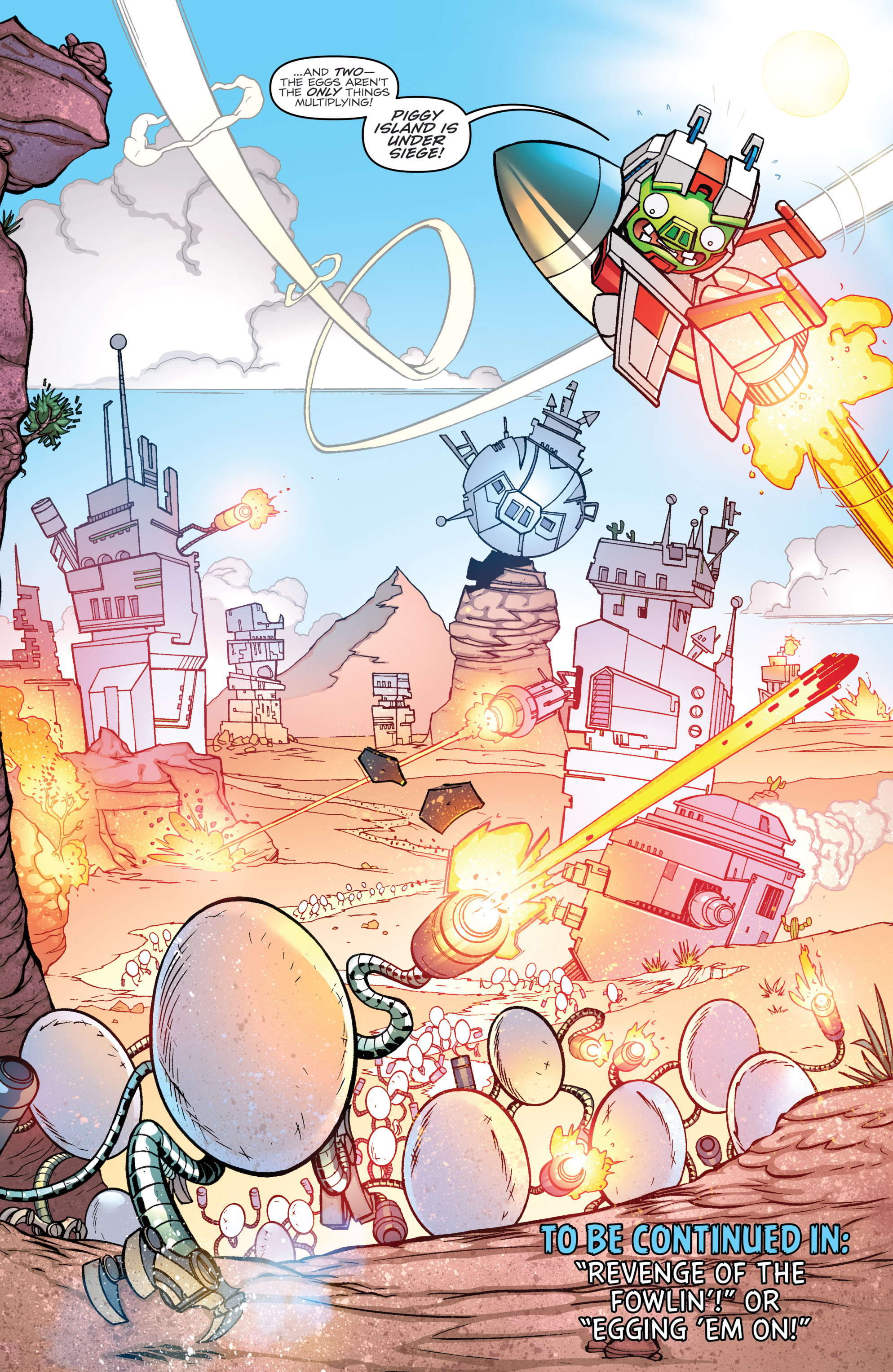 Read online Angry Birds Transformers comic -  Issue #2 - 22