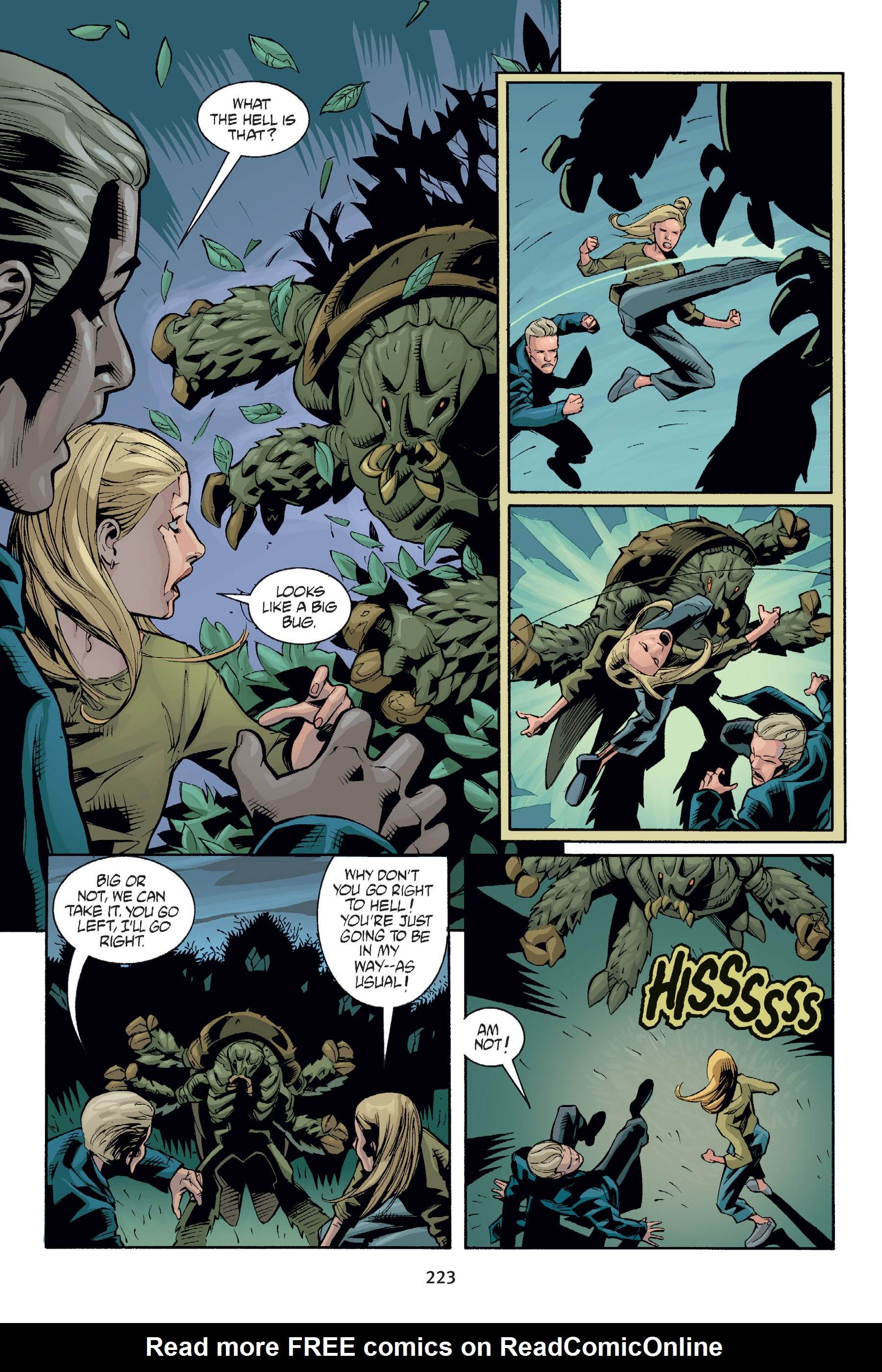 Read online Buffy the Vampire Slayer: Omnibus comic -  Issue # TPB 6 - 222