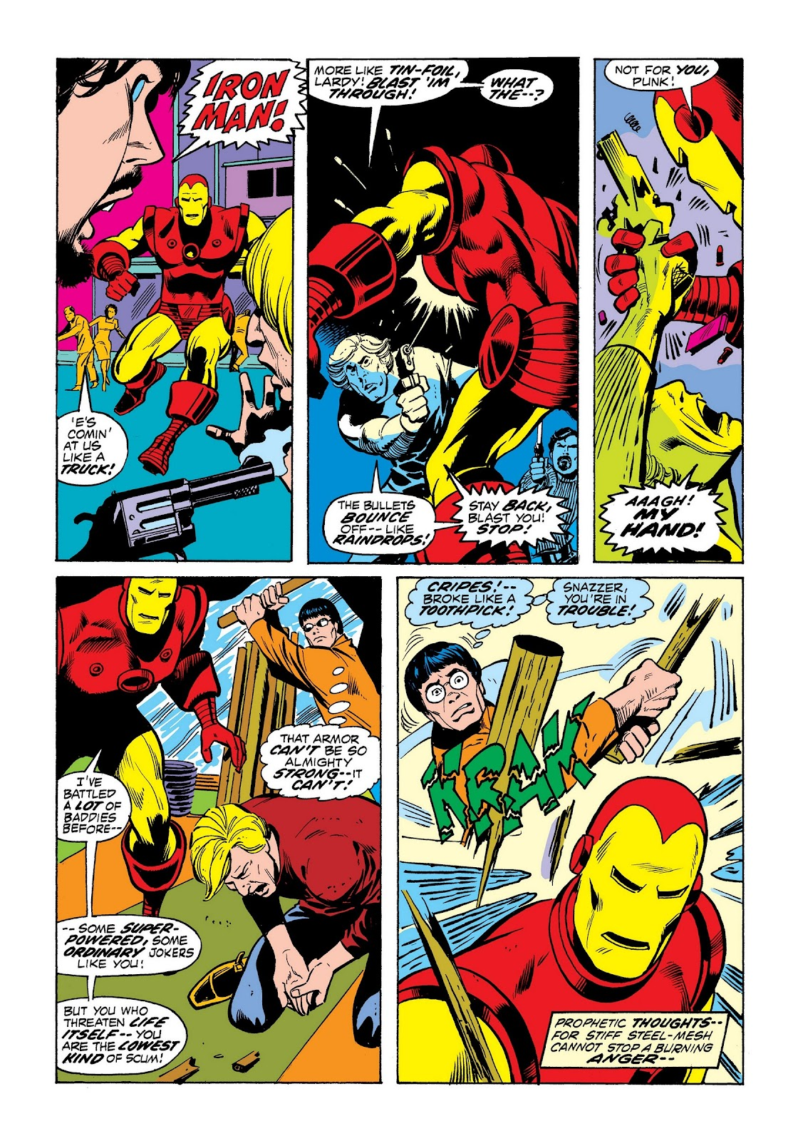 Read online Marvel Masterworks: The Invincible Iron Man comic -  Issue # TPB 8 (Part 3) - 56