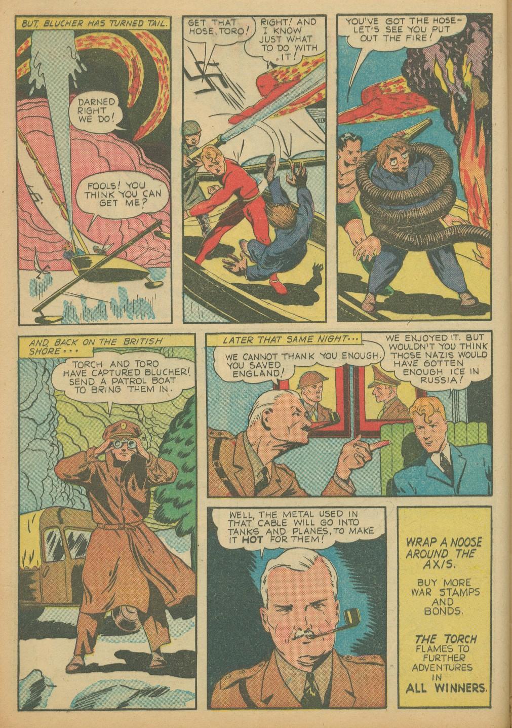 Read online All-Winners Comics comic -  Issue #8 - 16