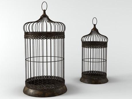 [3Dsmax] 3D model free - Birdcage 02
