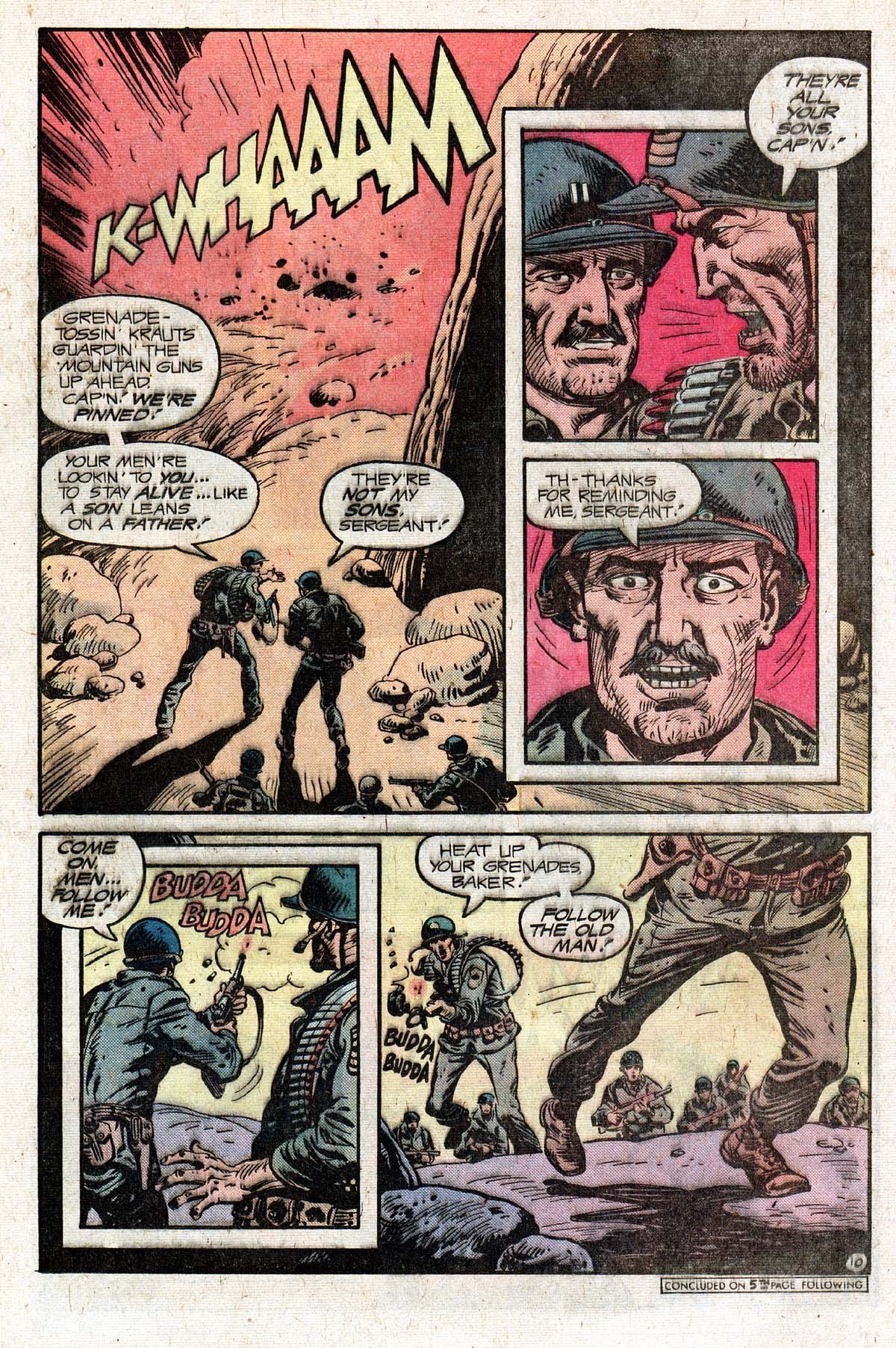 Read online Sgt. Rock comic -  Issue #331 - 16