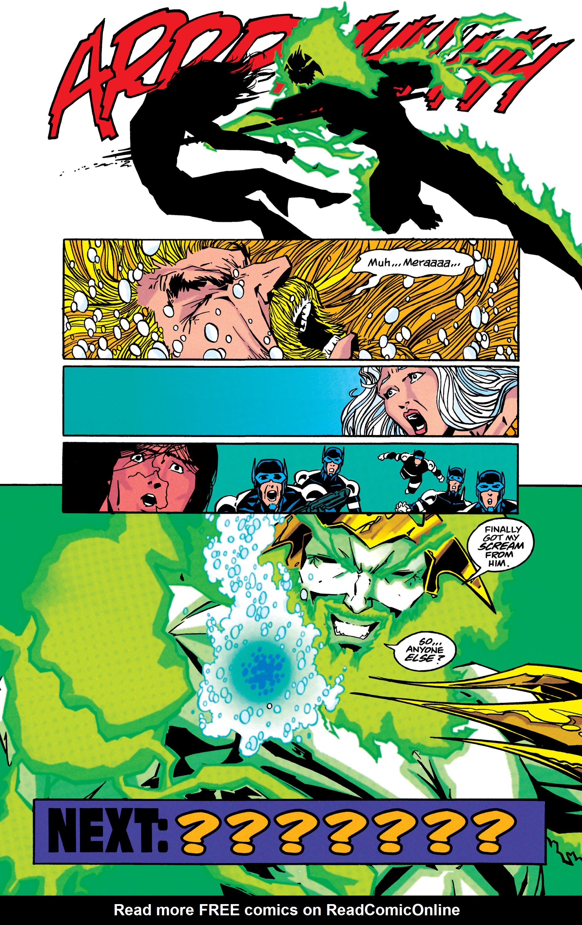 Read online Aquaman (1994) comic -  Issue #45 - 22