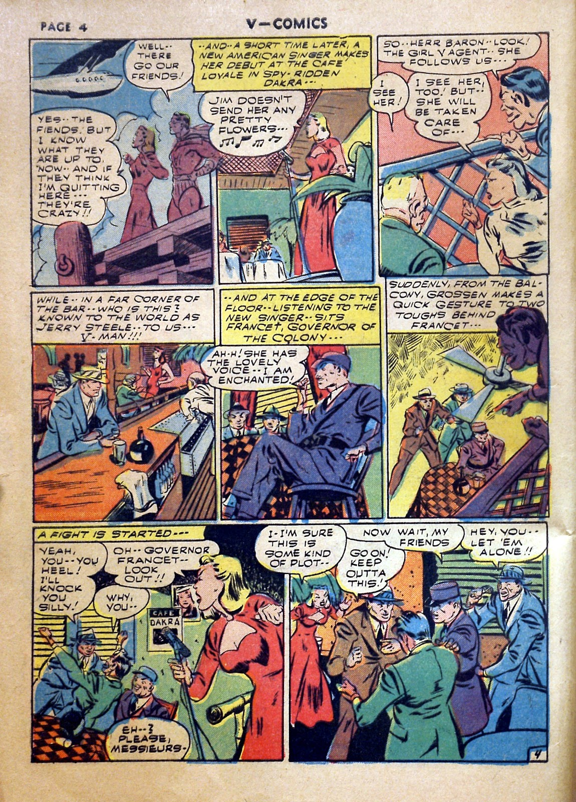 Read online V...- Comics comic -  Issue #2 - 5