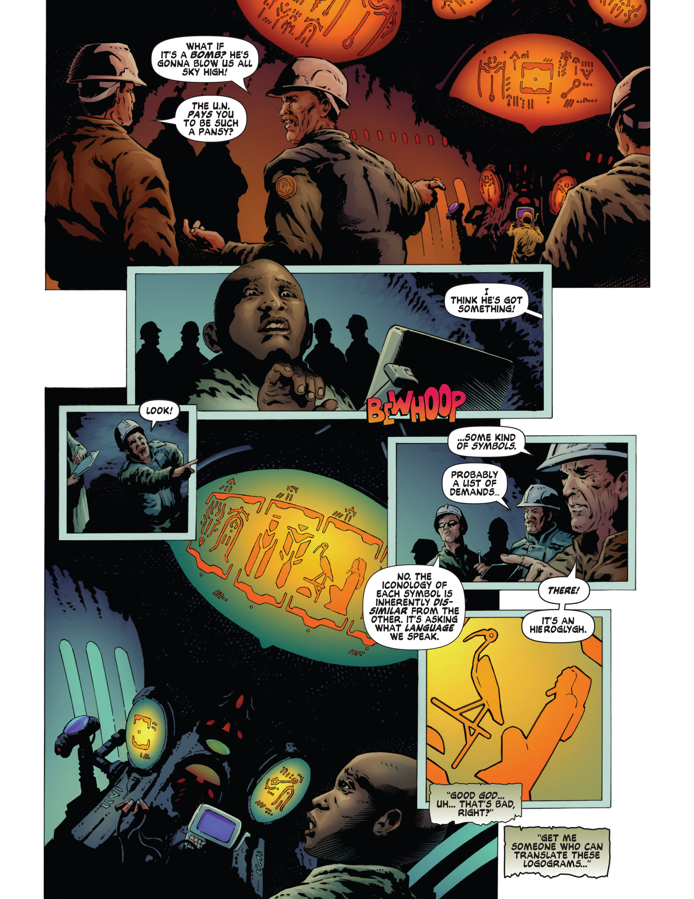 Read online Bad Planet comic -  Issue # TPB - 49