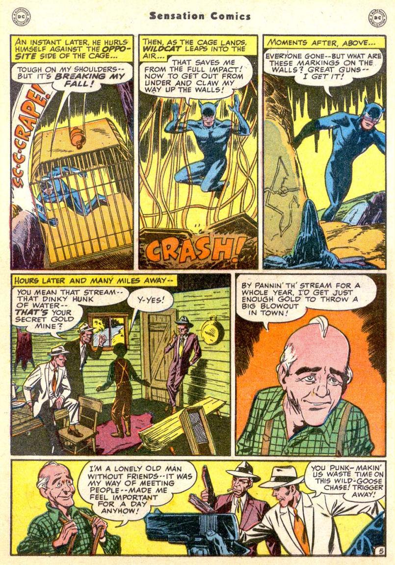 Read online Sensation (Mystery) Comics comic -  Issue #85 - 46