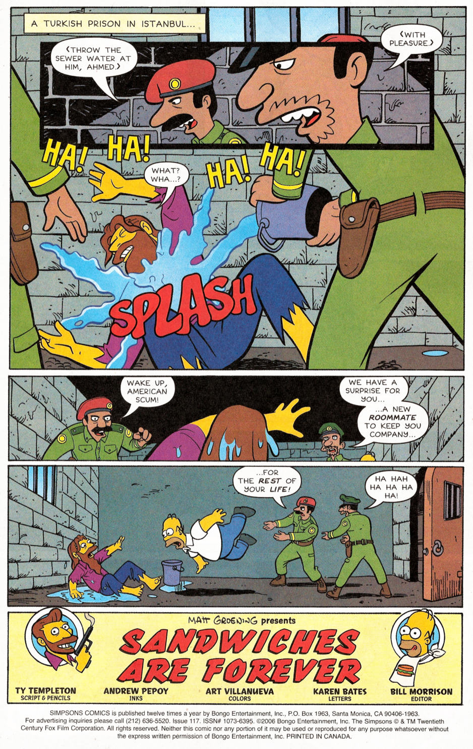 Read online Simpsons Comics comic -  Issue #117 - 2