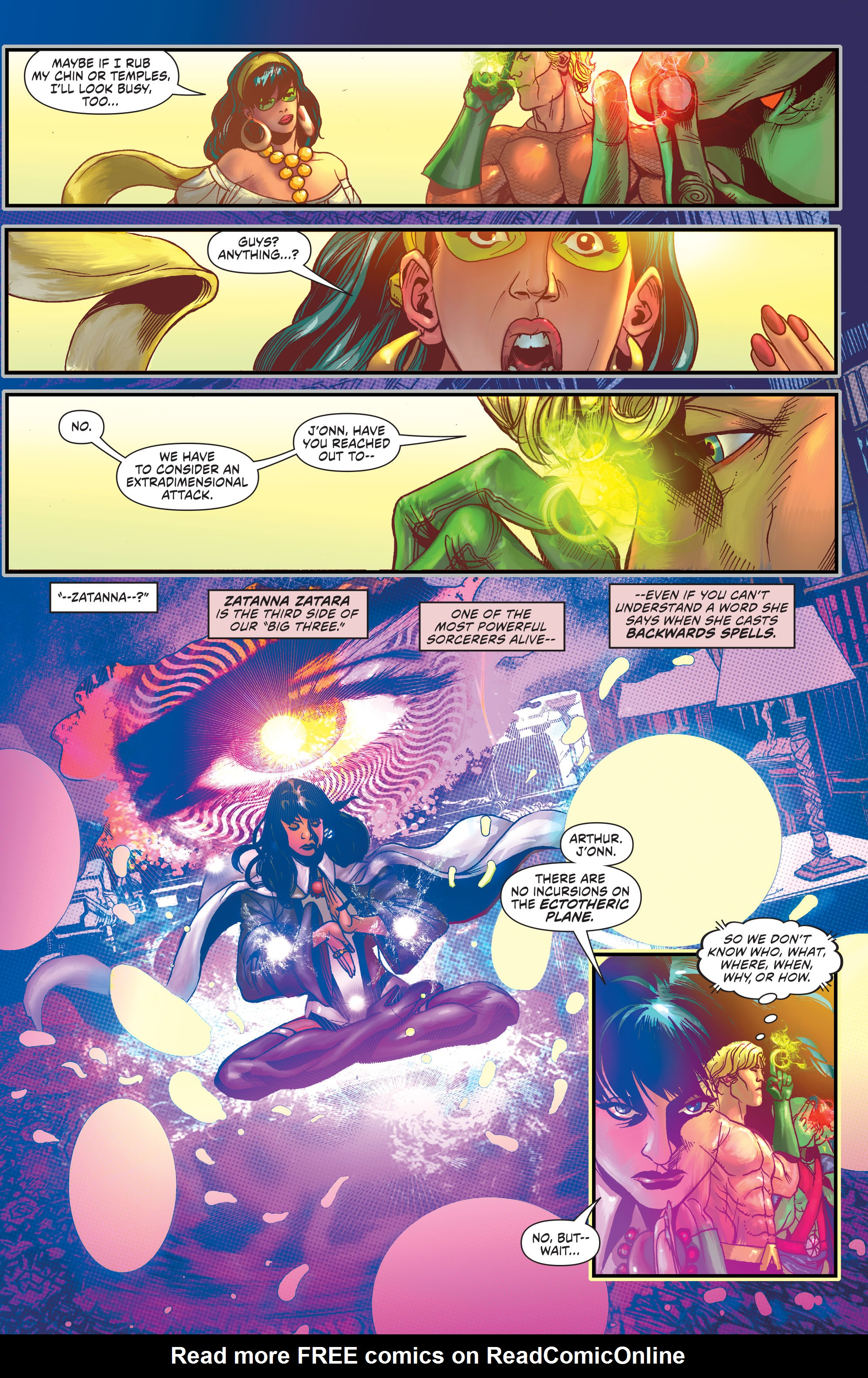 Convergence Justice League of America Issue 1 | Viewcomic