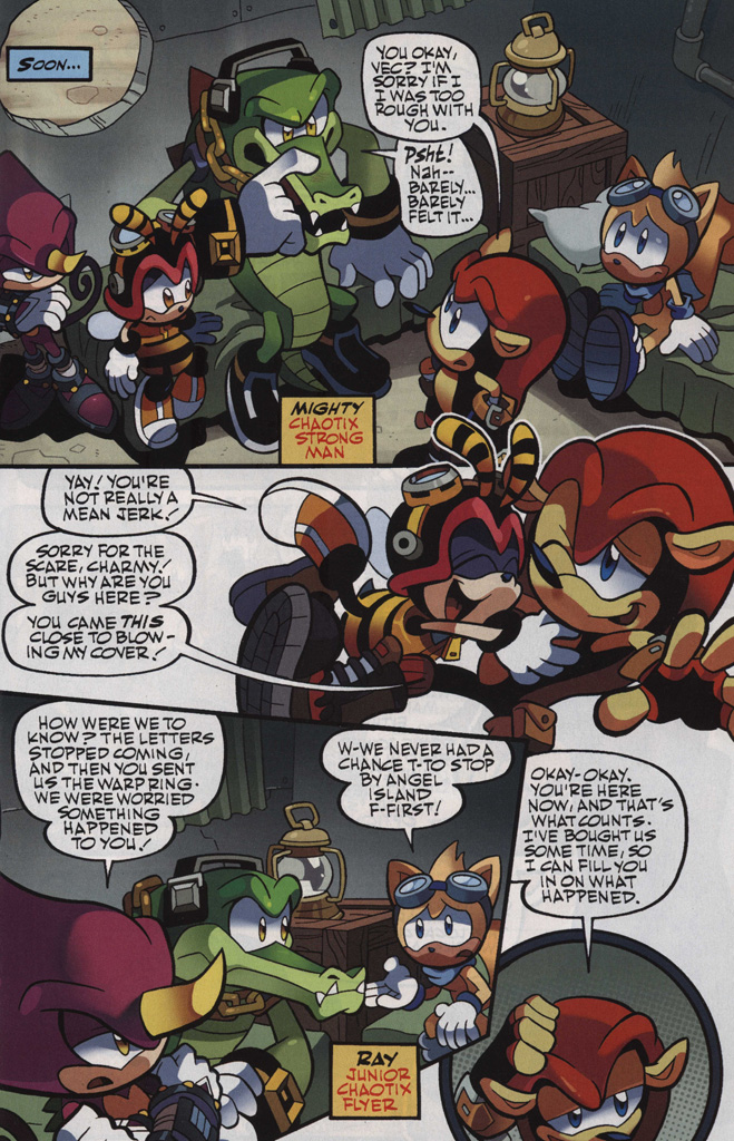 Read online Sonic Universe comic -  Issue #48 - 11