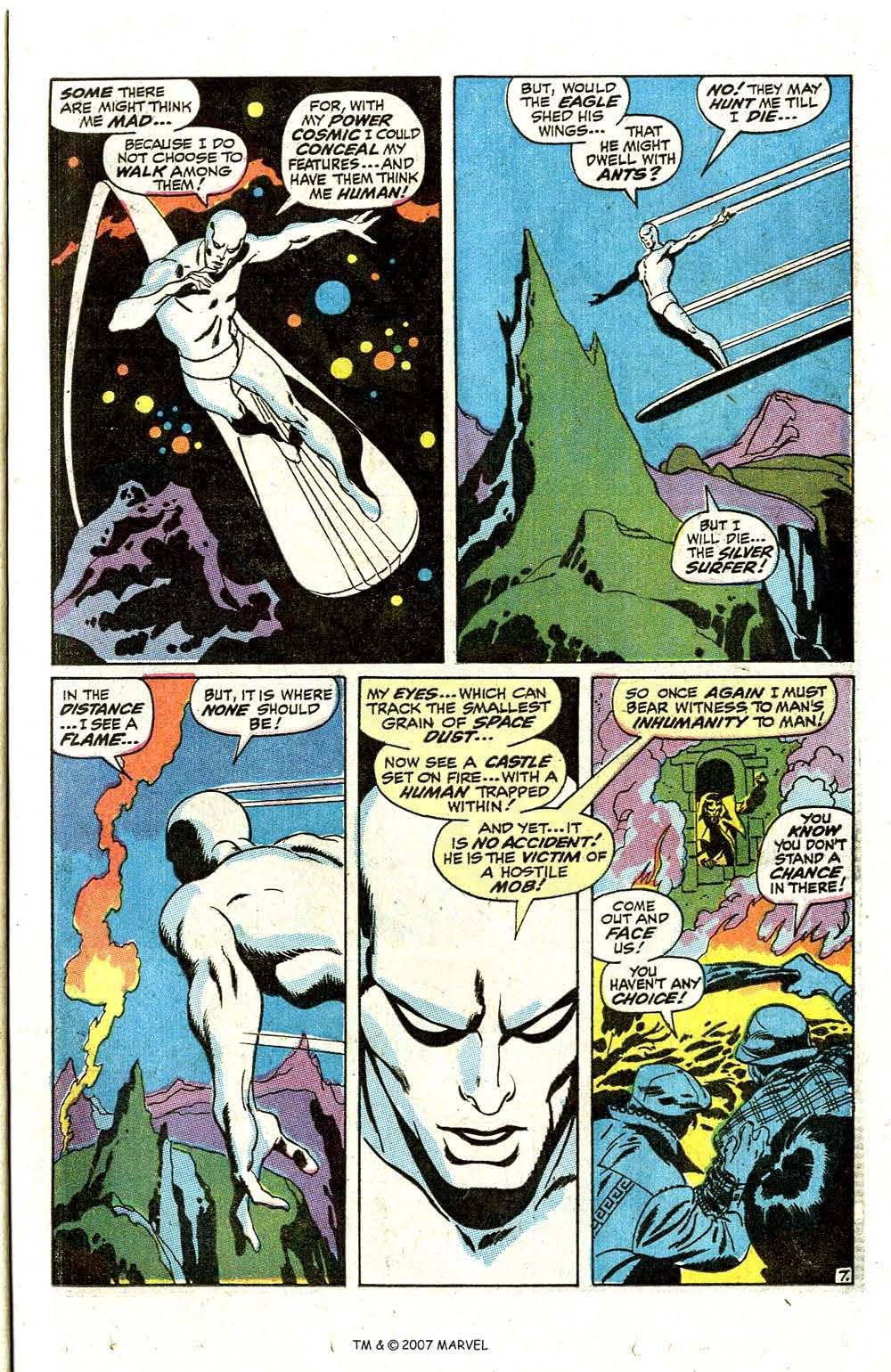 Read online Silver Surfer (1968) comic -  Issue #7 - 9