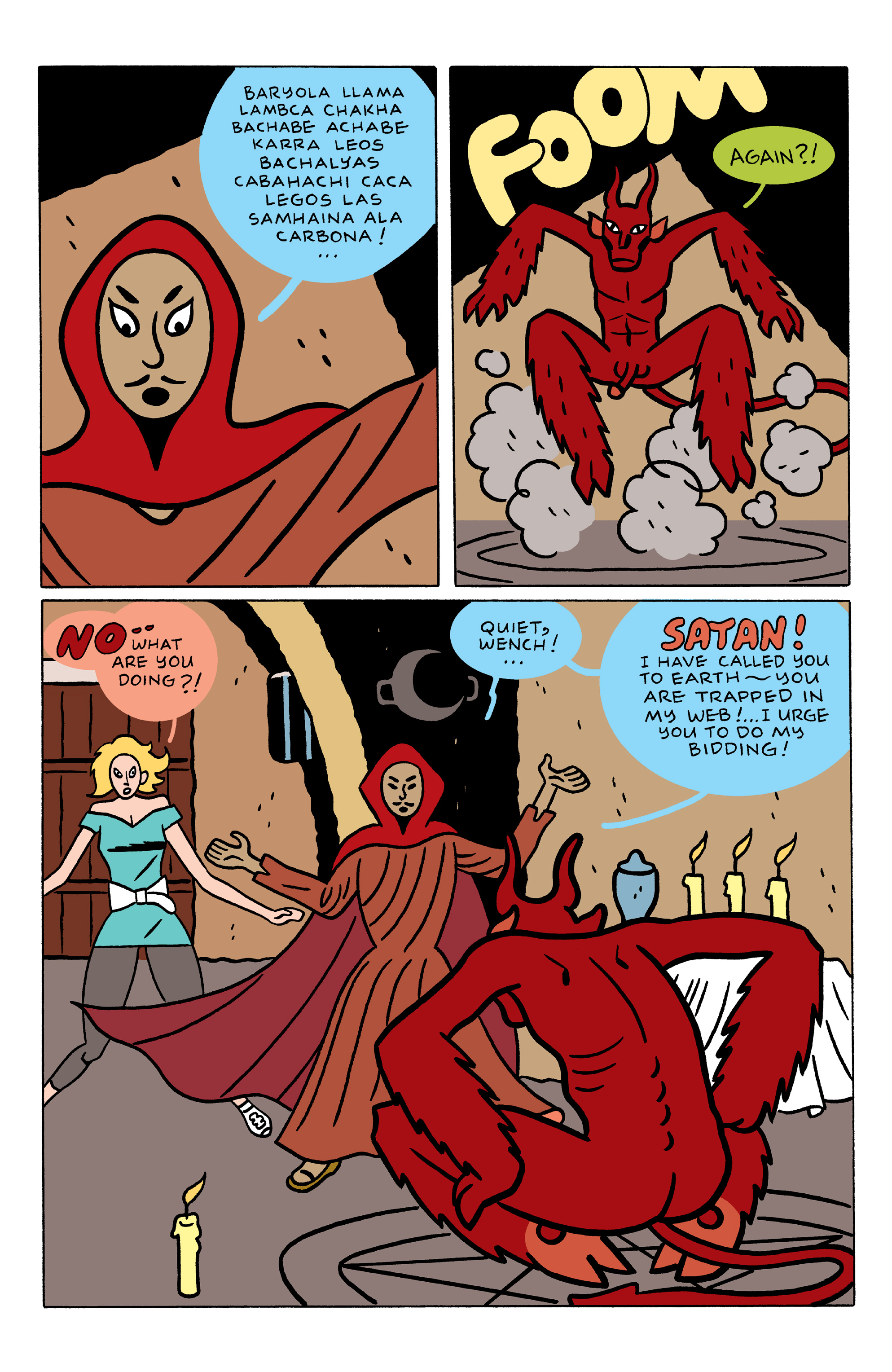 Read online She Wolf comic -  Issue #3 - 10