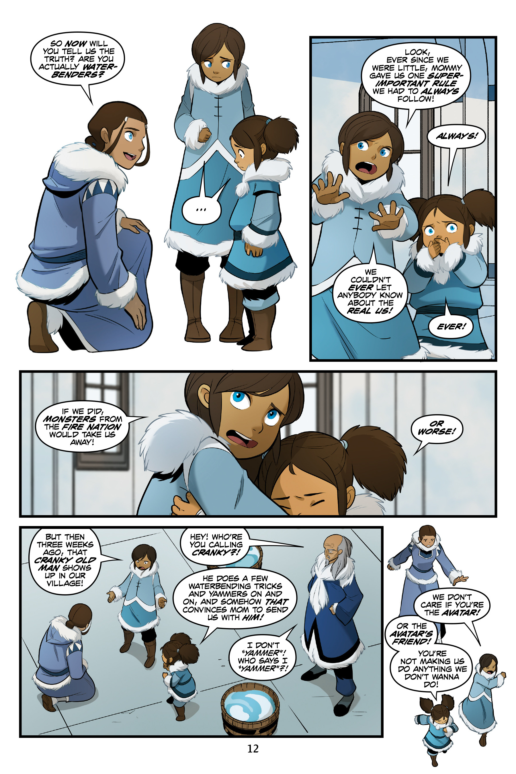 Read online Nickelodeon Avatar: The Last Airbender - North and South comic -  Issue #3 - 13