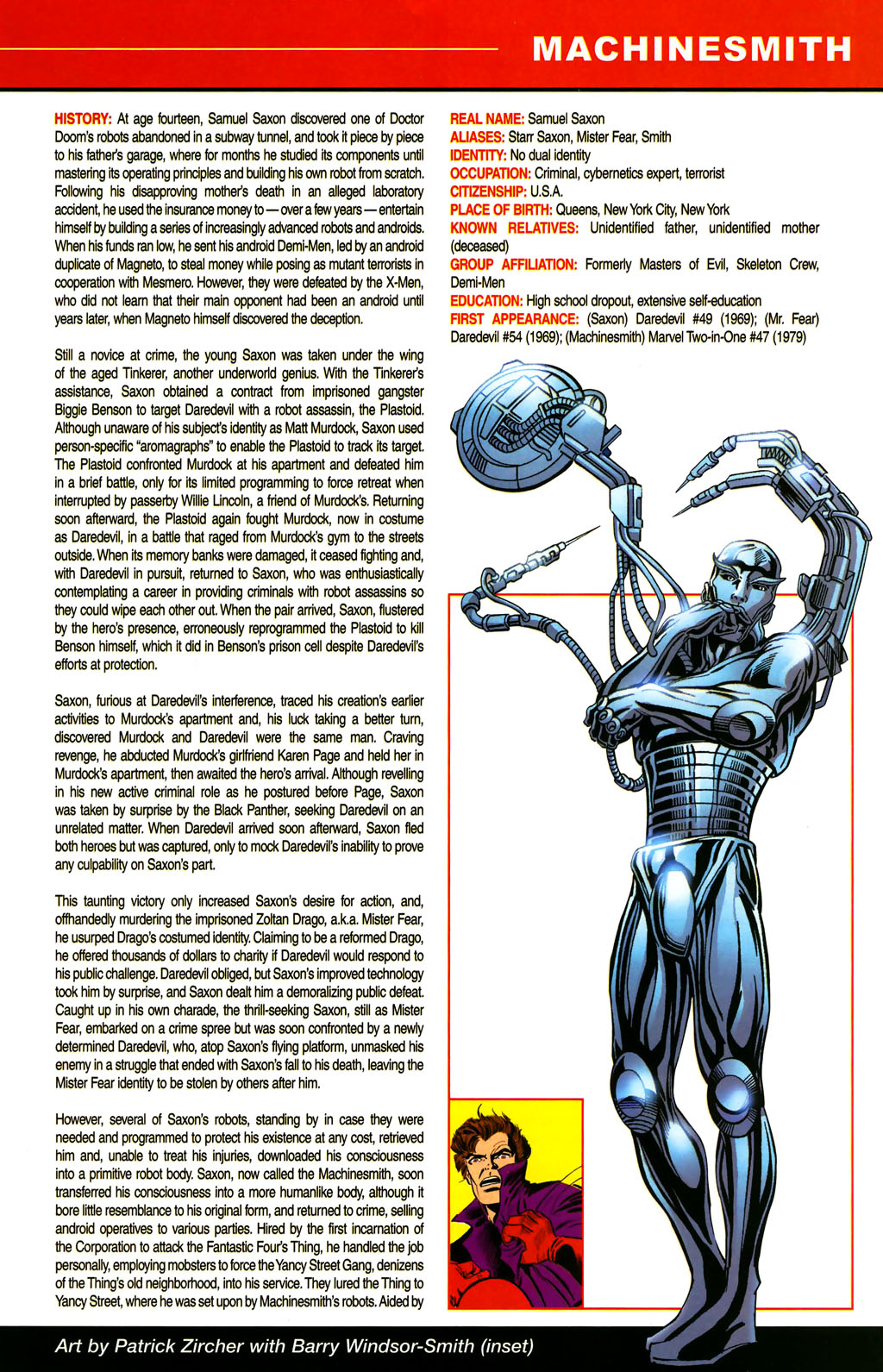 Read online All-New Official Handbook of the Marvel Universe A to Z comic -  Issue #6 - 47
