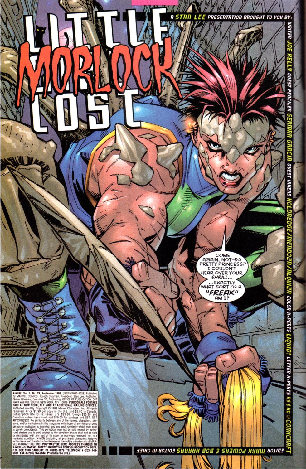 X-Men (1991) 79 Page 2