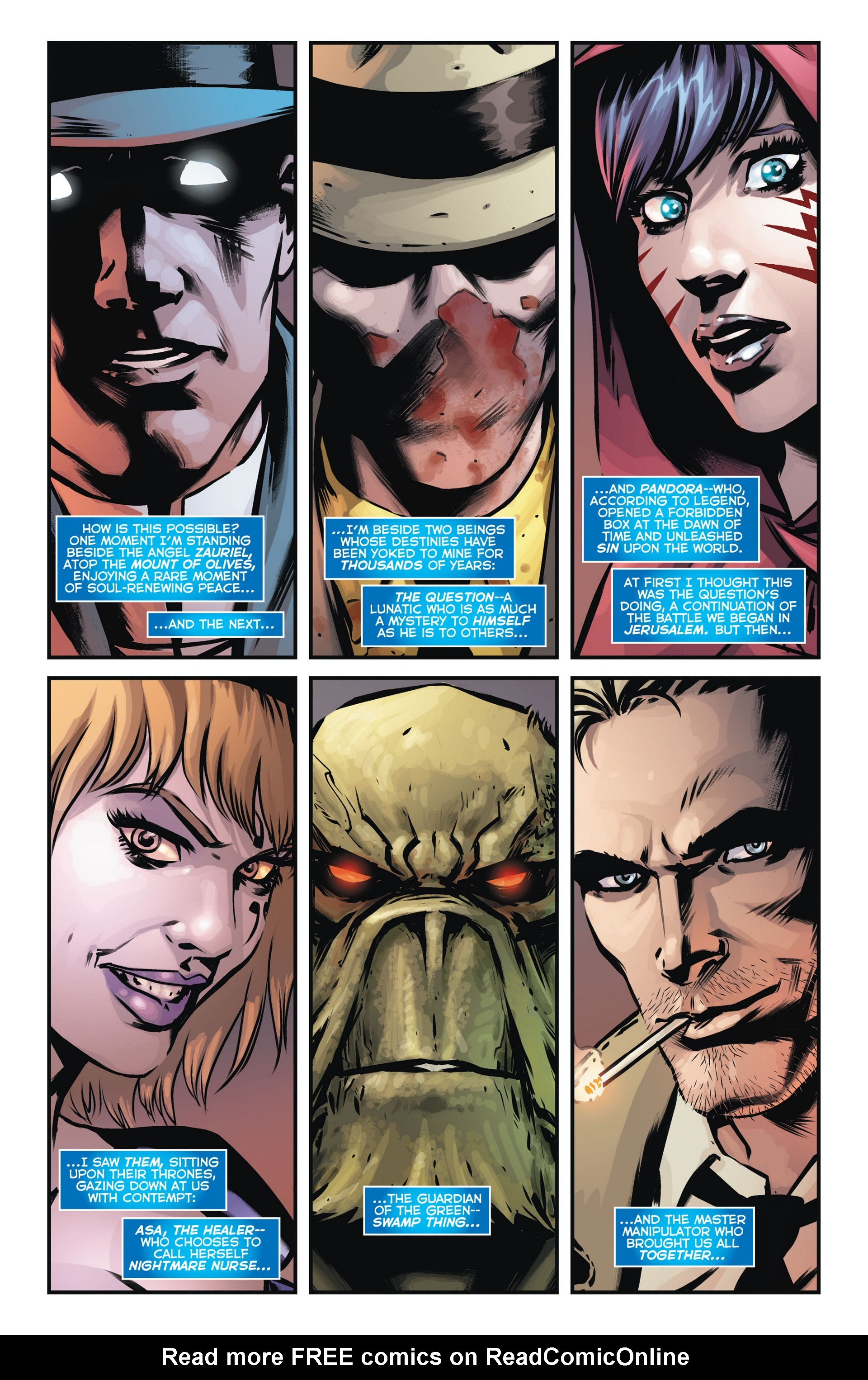 Read online Trinity of Sin: The Phantom Stranger comic -  Issue #14 - 2