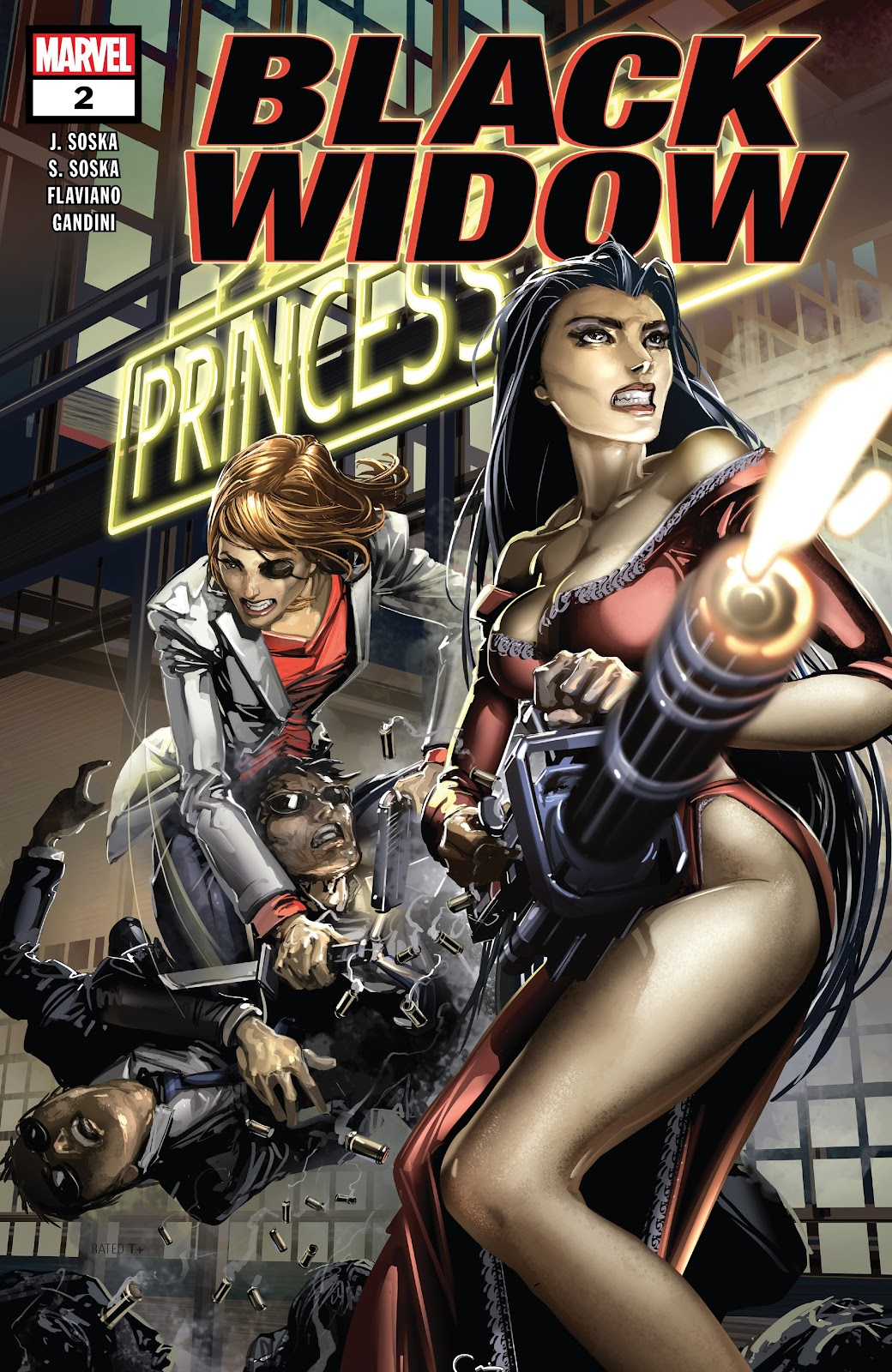 Read online Black Widow (2019) comic -  Issue #2 - 1