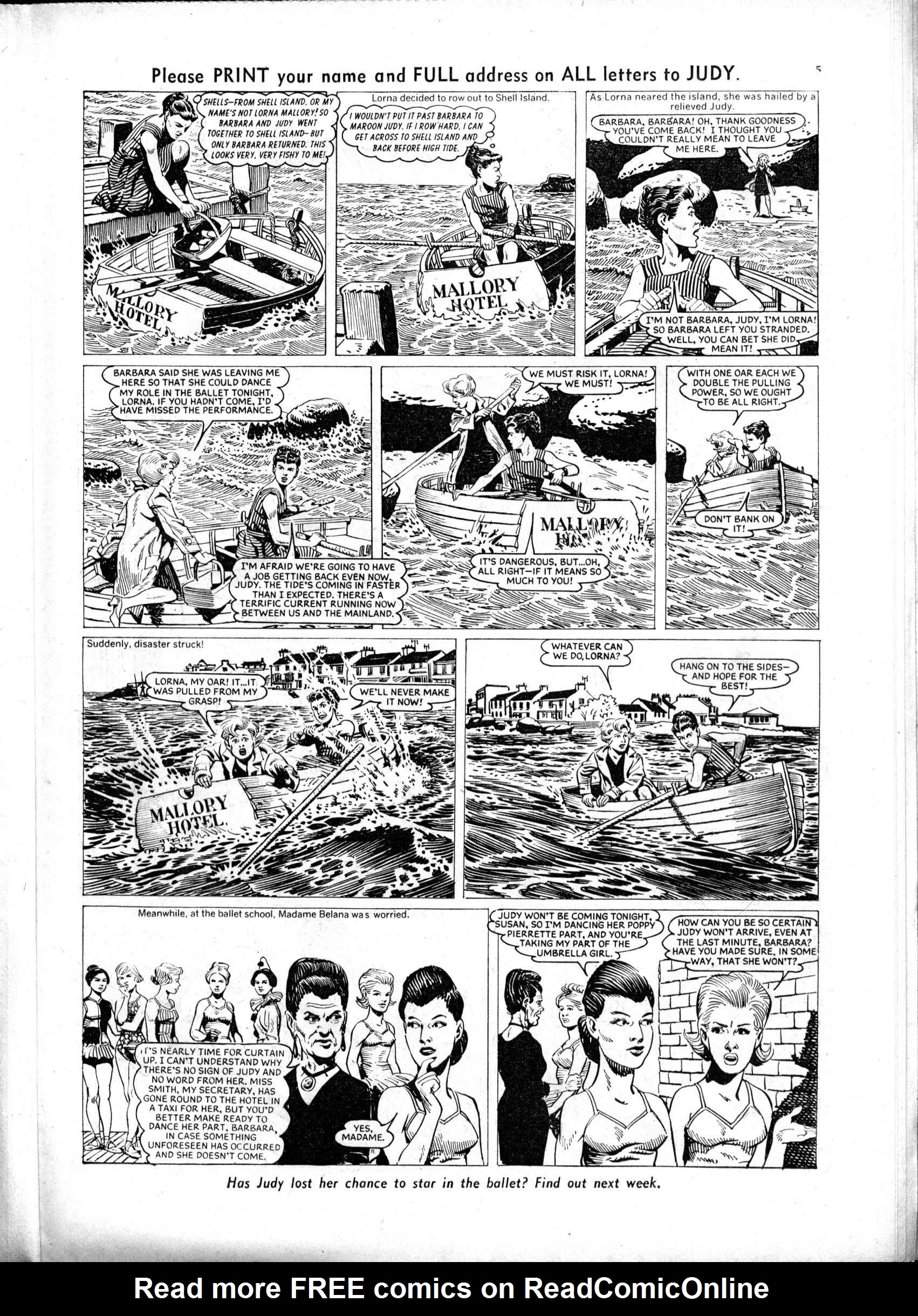Read online Judy comic -  Issue #154 - 5