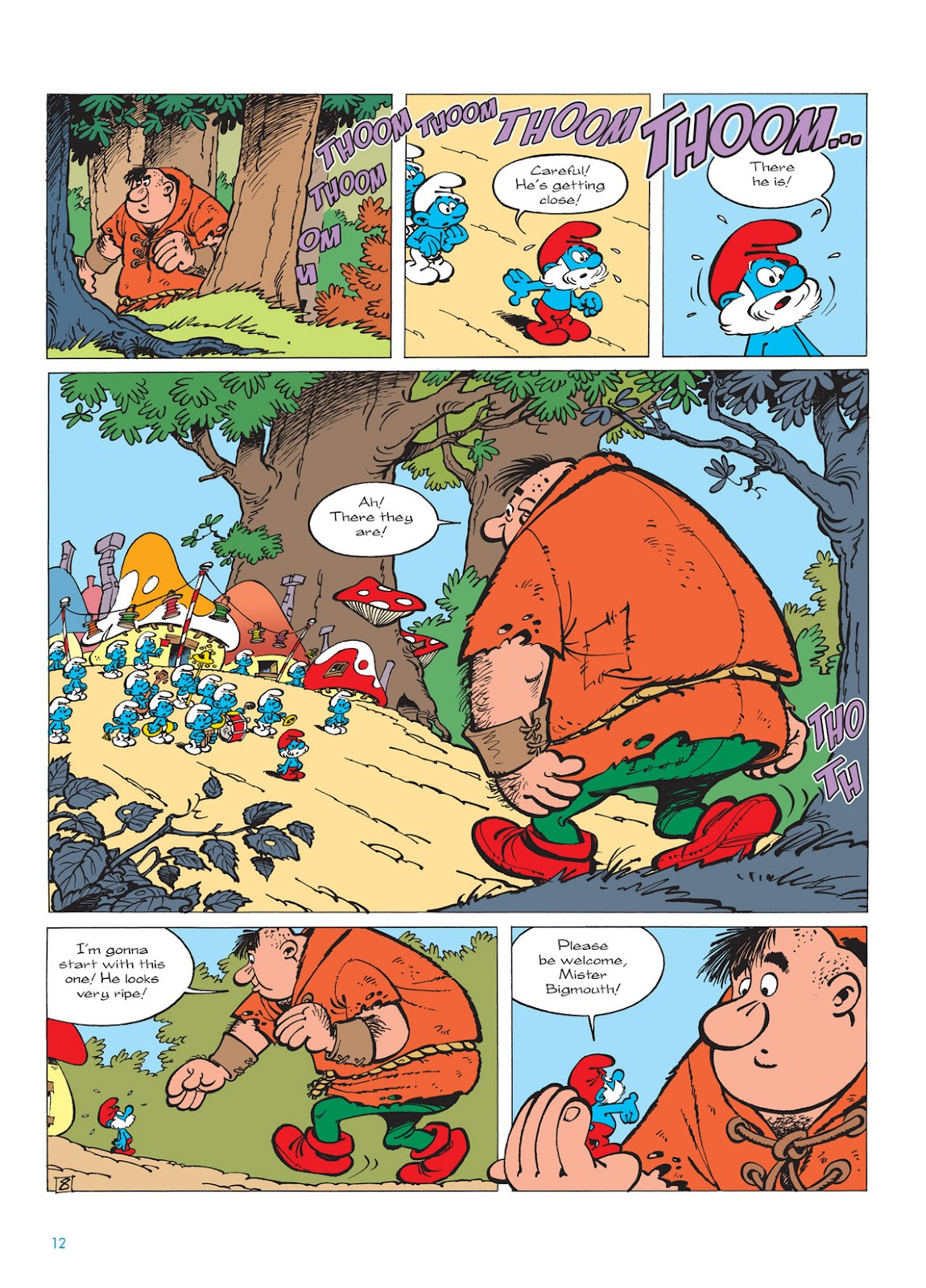 Read online The Smurfs comic -  Issue #13 - 12