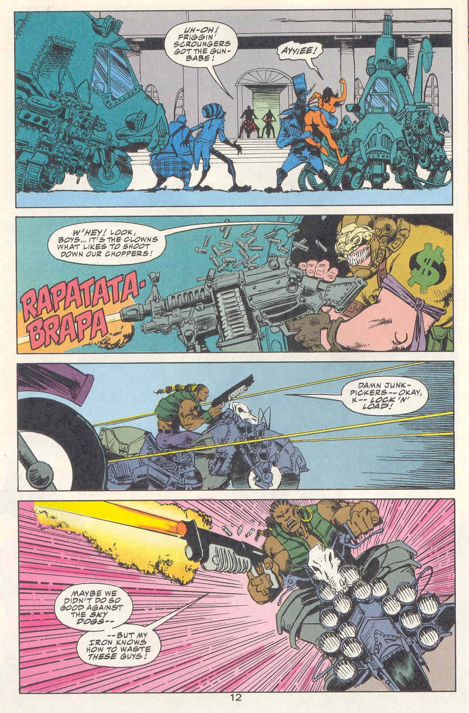 Read online Kamandi: At Earth's End comic -  Issue #2 - 13