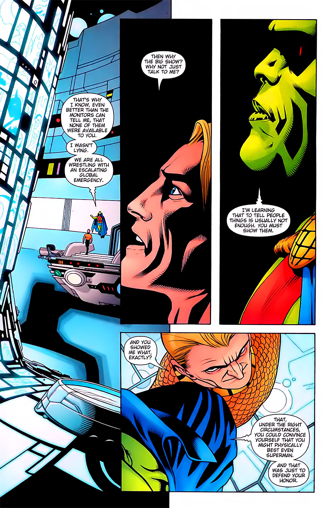 Read online Aquaman (2003) comic -  Issue #29 - 19