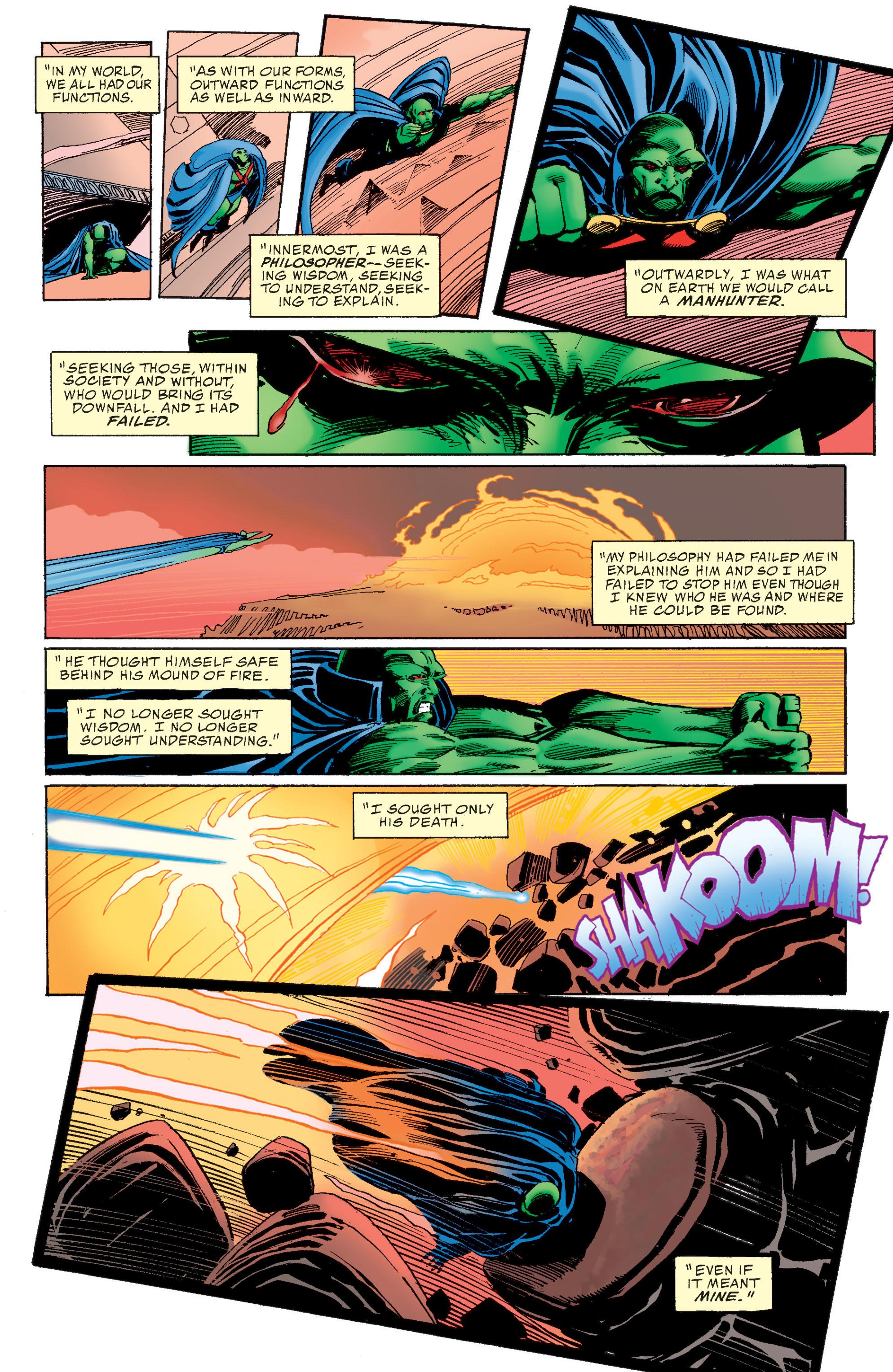 Read online Martian Manhunter: Son of Mars comic -  Issue # TPB - 14