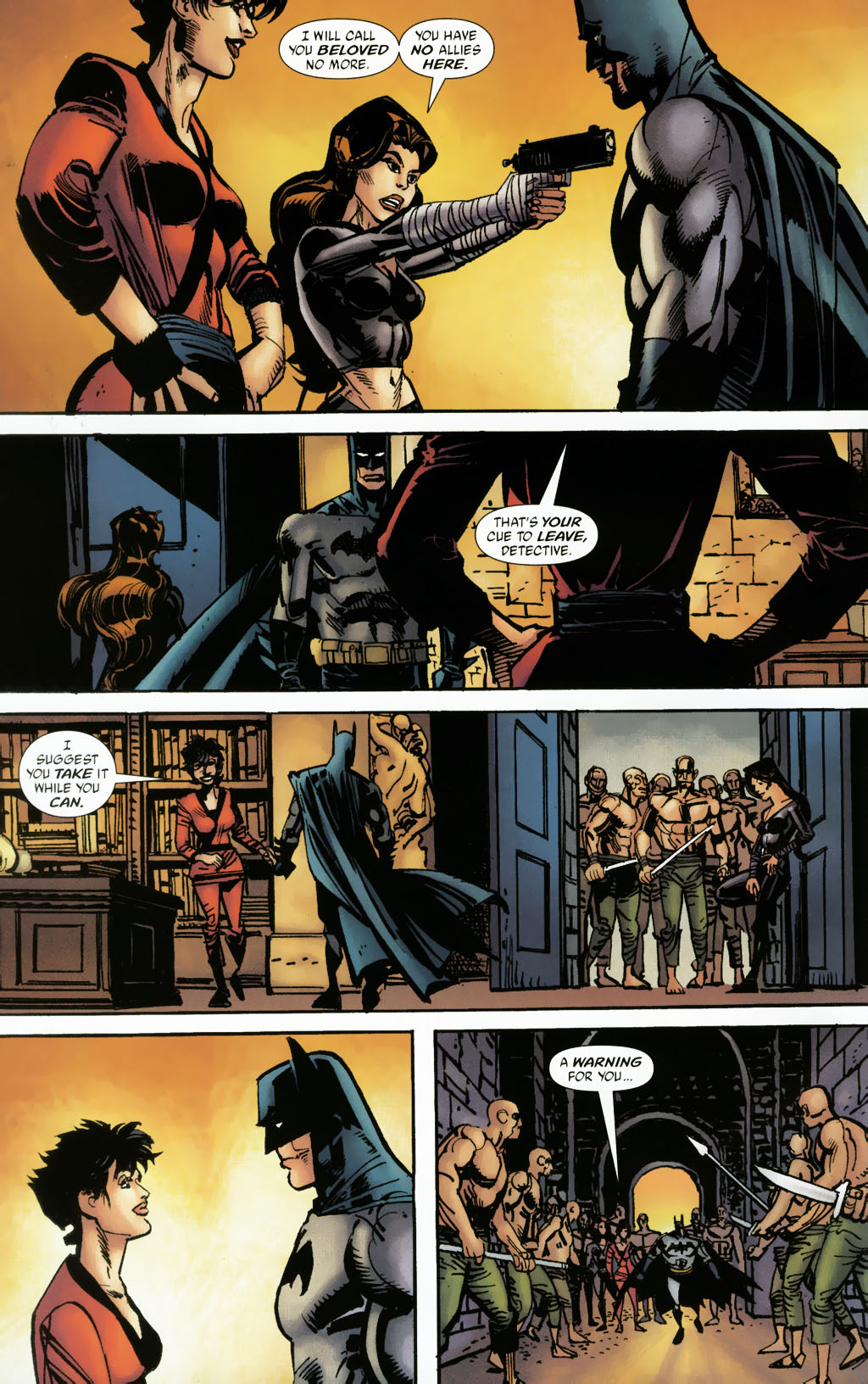 Read online Batman: Death and the Maidens comic -  Issue #9 - 22