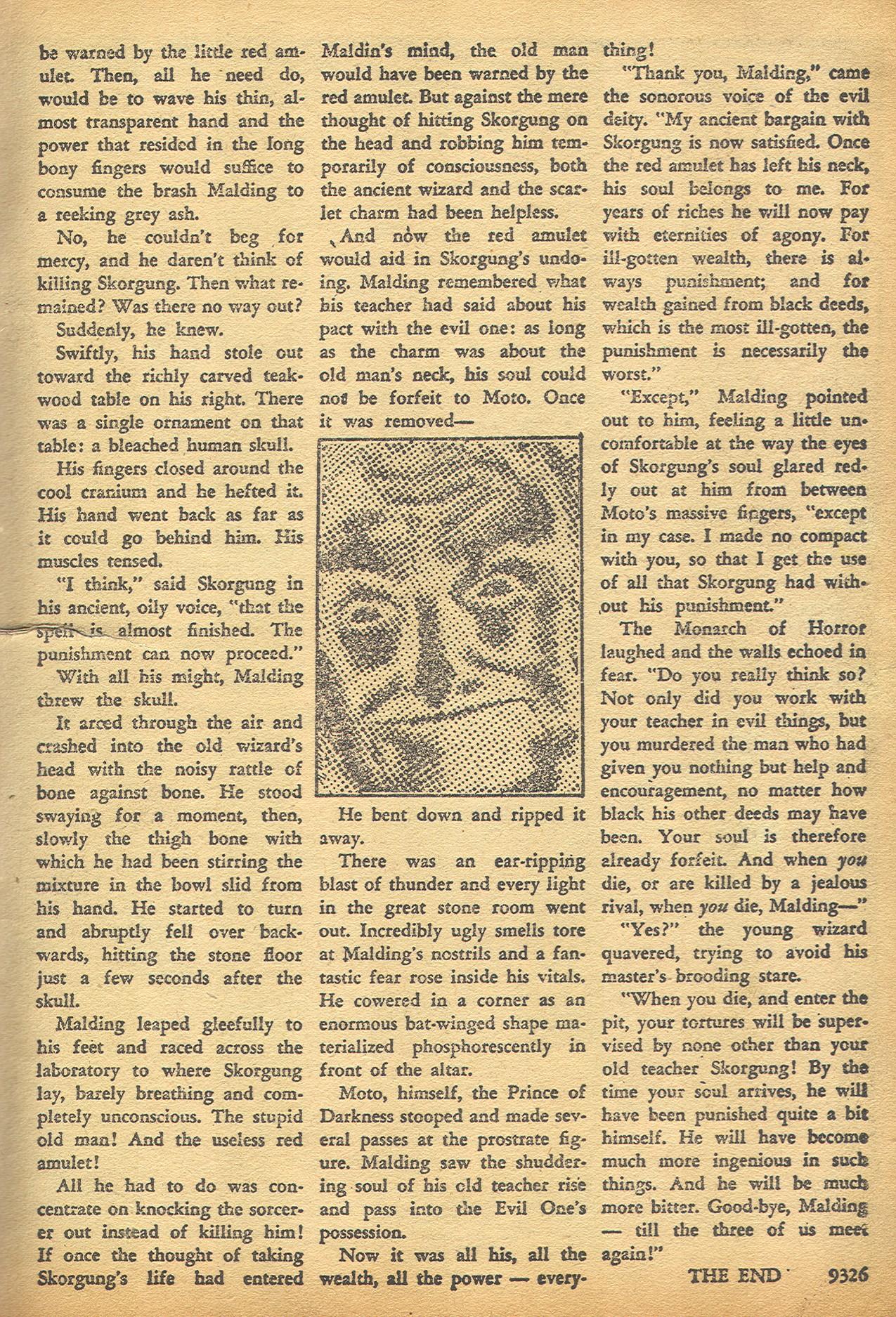 Read online Adventures into Weird Worlds comic -  Issue #8 - 21