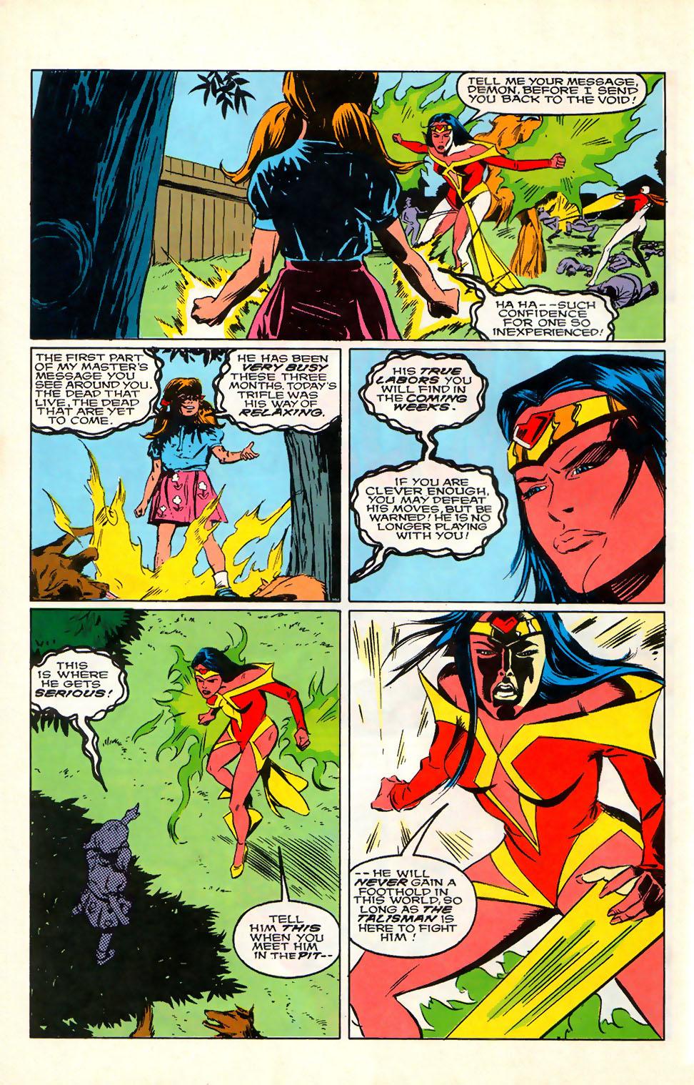 Read online Alpha Flight (1983) comic -  Issue #76 - 22
