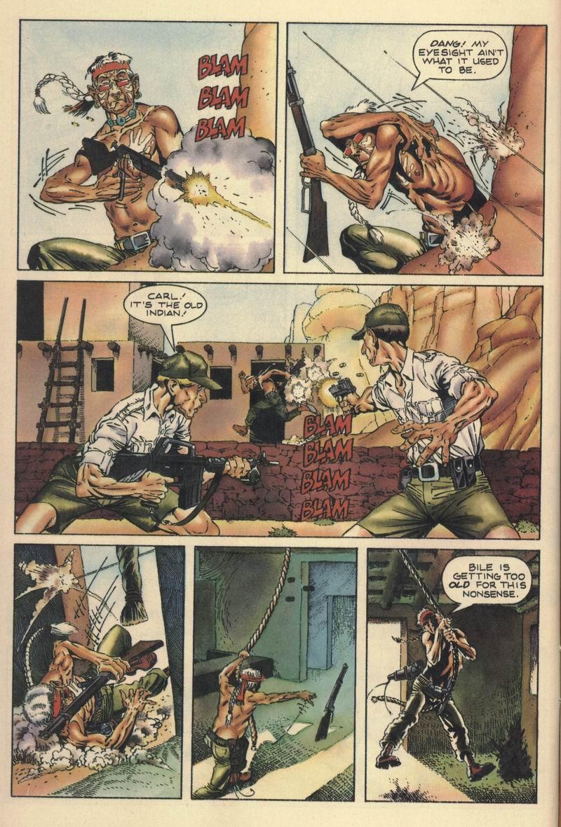 Read online Turok, Dinosaur Hunter (1993) comic -  Issue #10 - 11